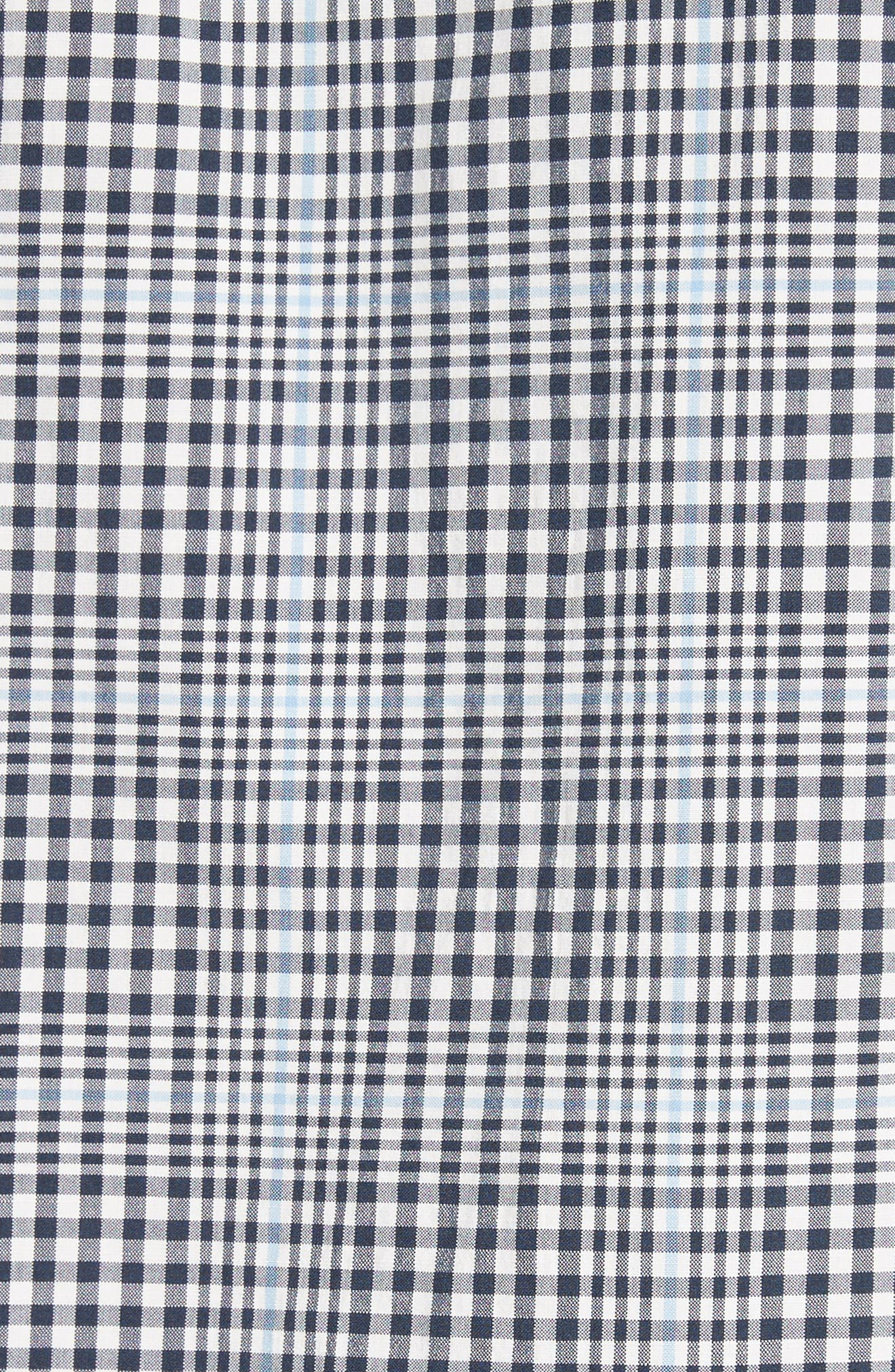 Alternate Image 5  - A.P.C. John Check Woven Shirt