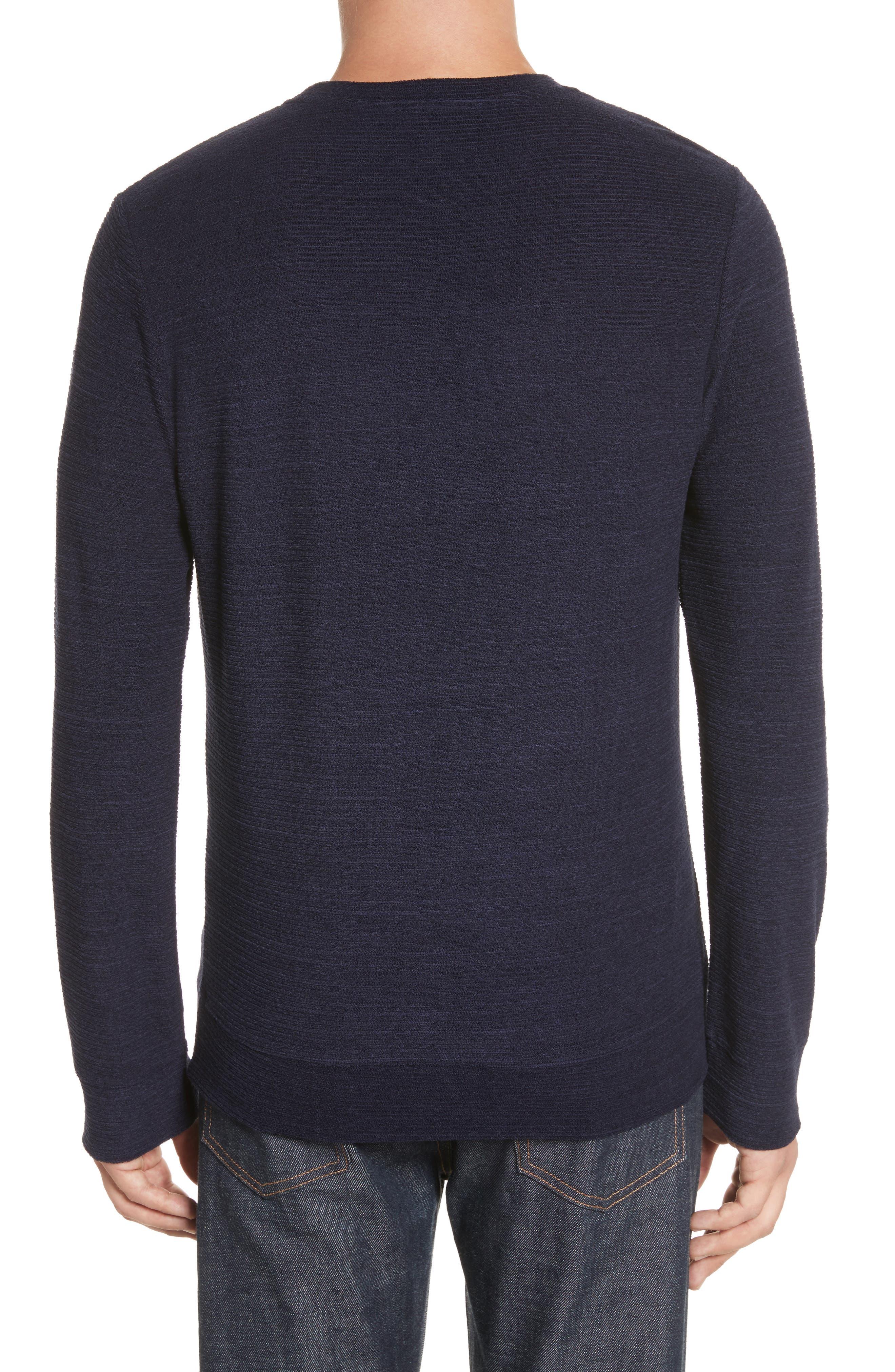 Alternate Image 2  - A.P.C. Jeremie Crewneck Sweater