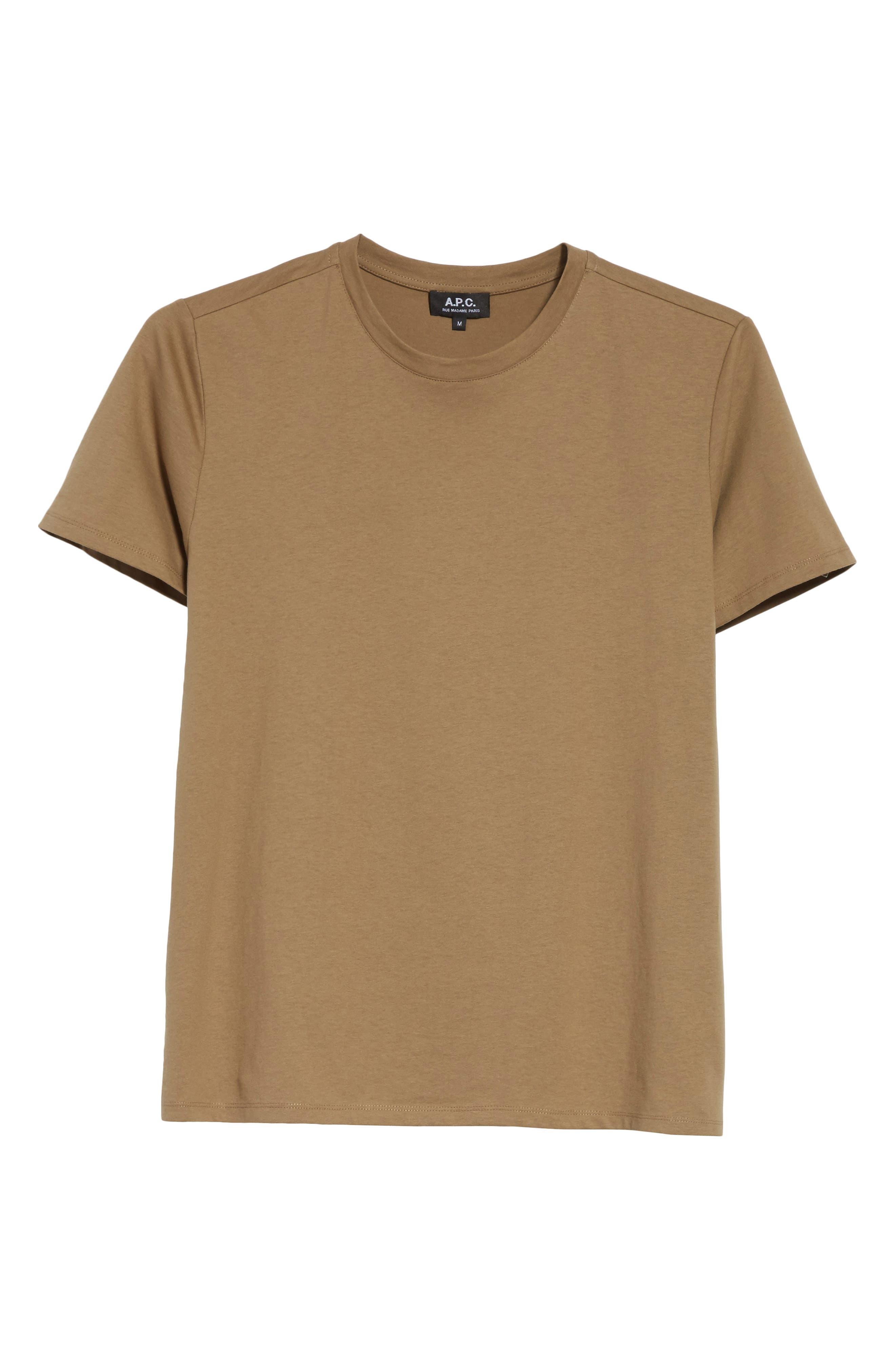 Jimmy T-Shirt,                             Alternate thumbnail 6, color,                             Taupe