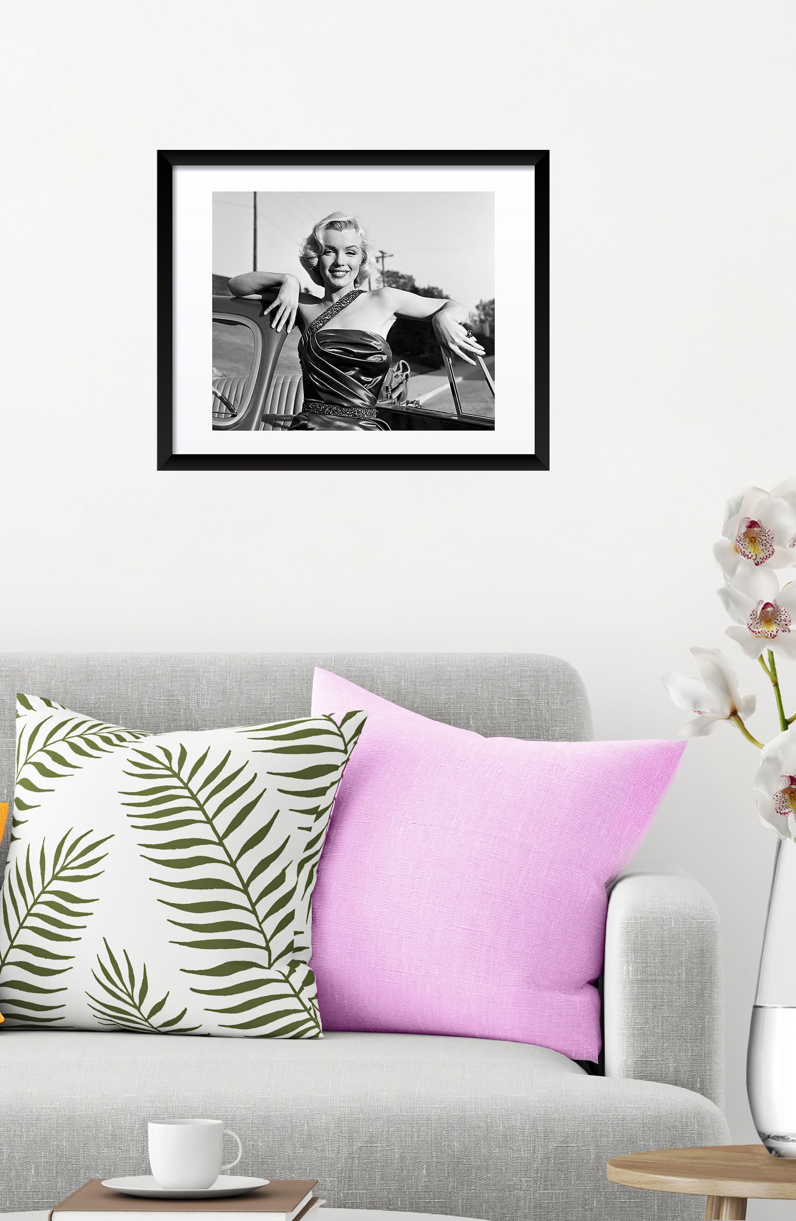 Marilyn Monroe Fine Art Print,                             Alternate thumbnail 2, color,                             Black