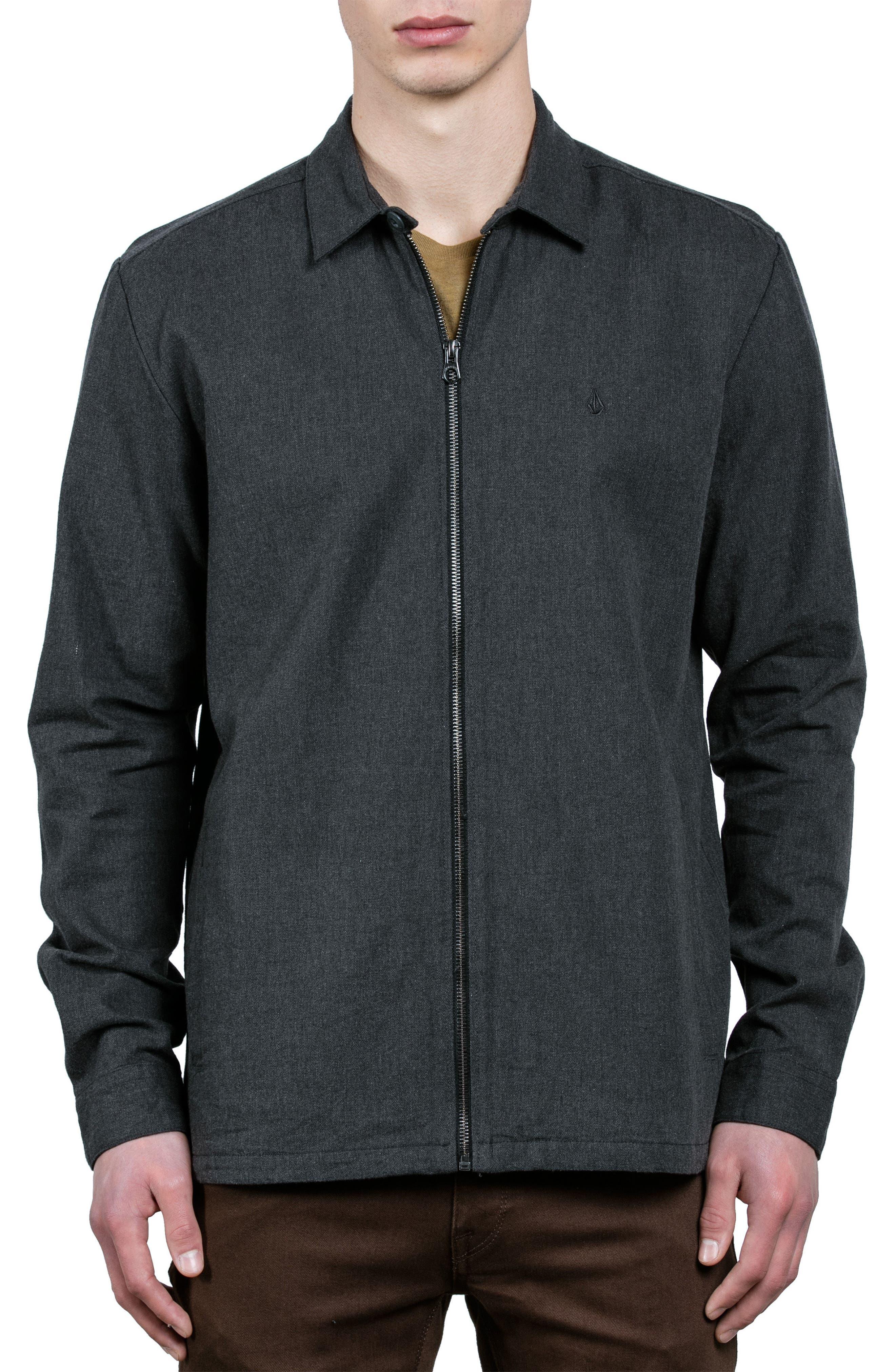 Main Image - Volcom The Dweller Shirt Jacket
