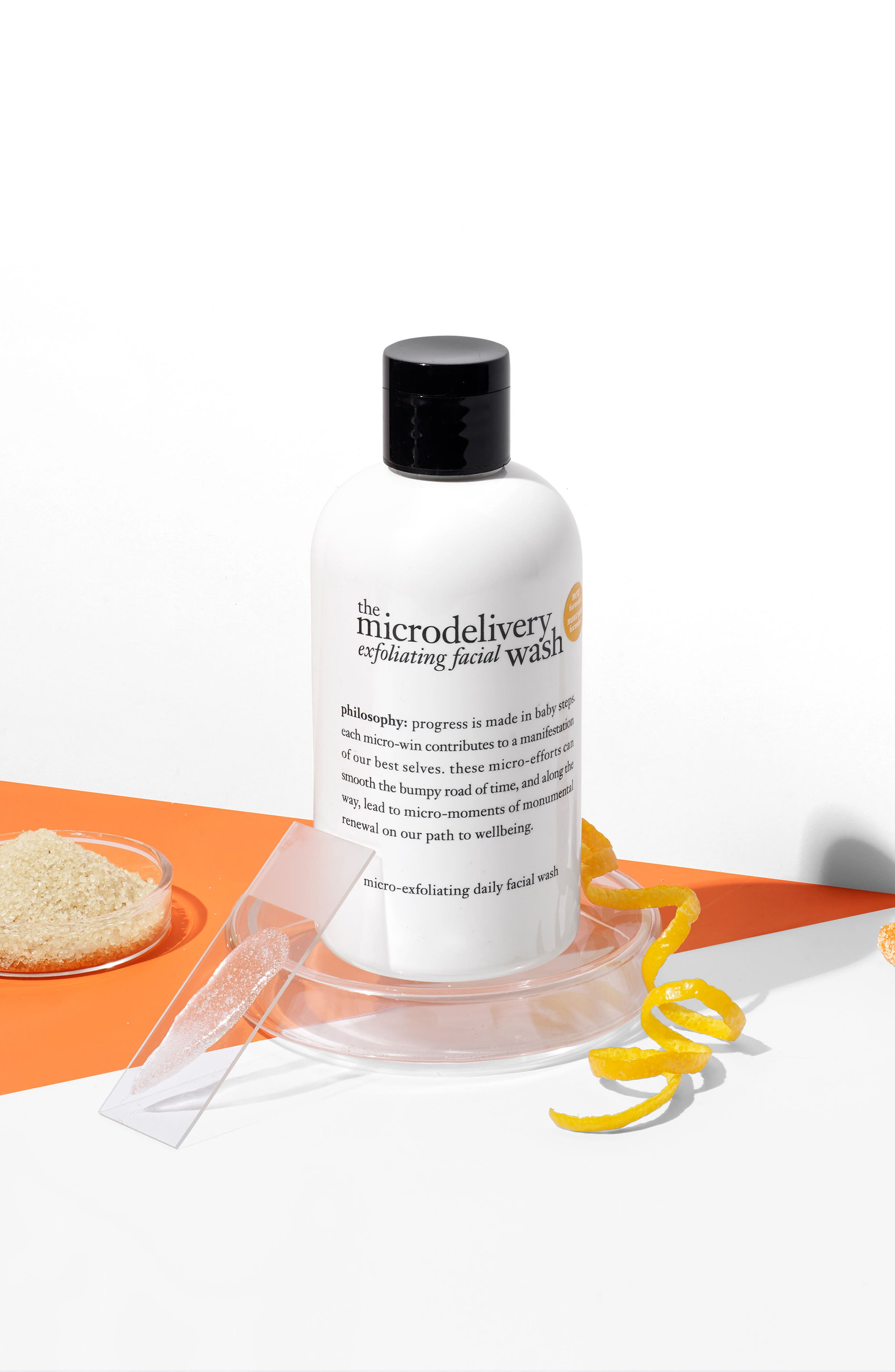 the microdelivery exfoliating facial wash,                             Alternate thumbnail 5, color,                             No Color