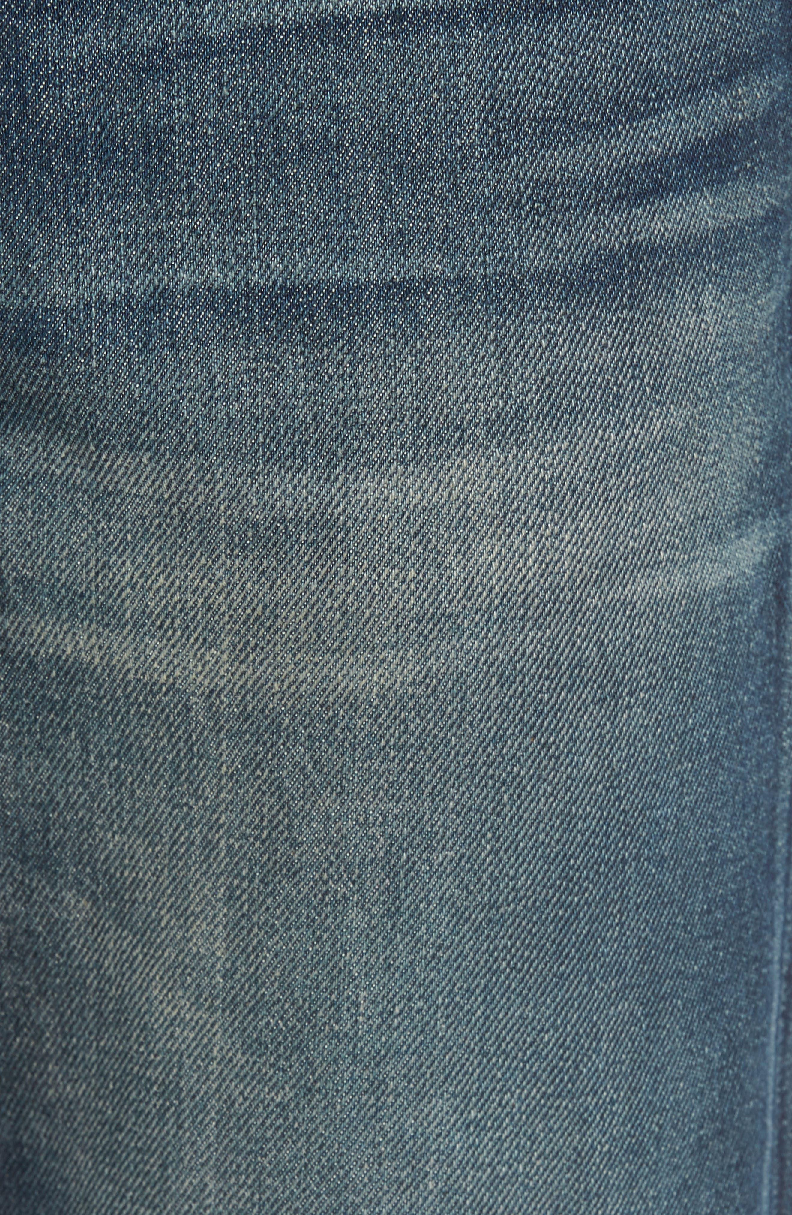 L'Homme Slim Fit Jeans,                             Alternate thumbnail 5, color,                             Bunker