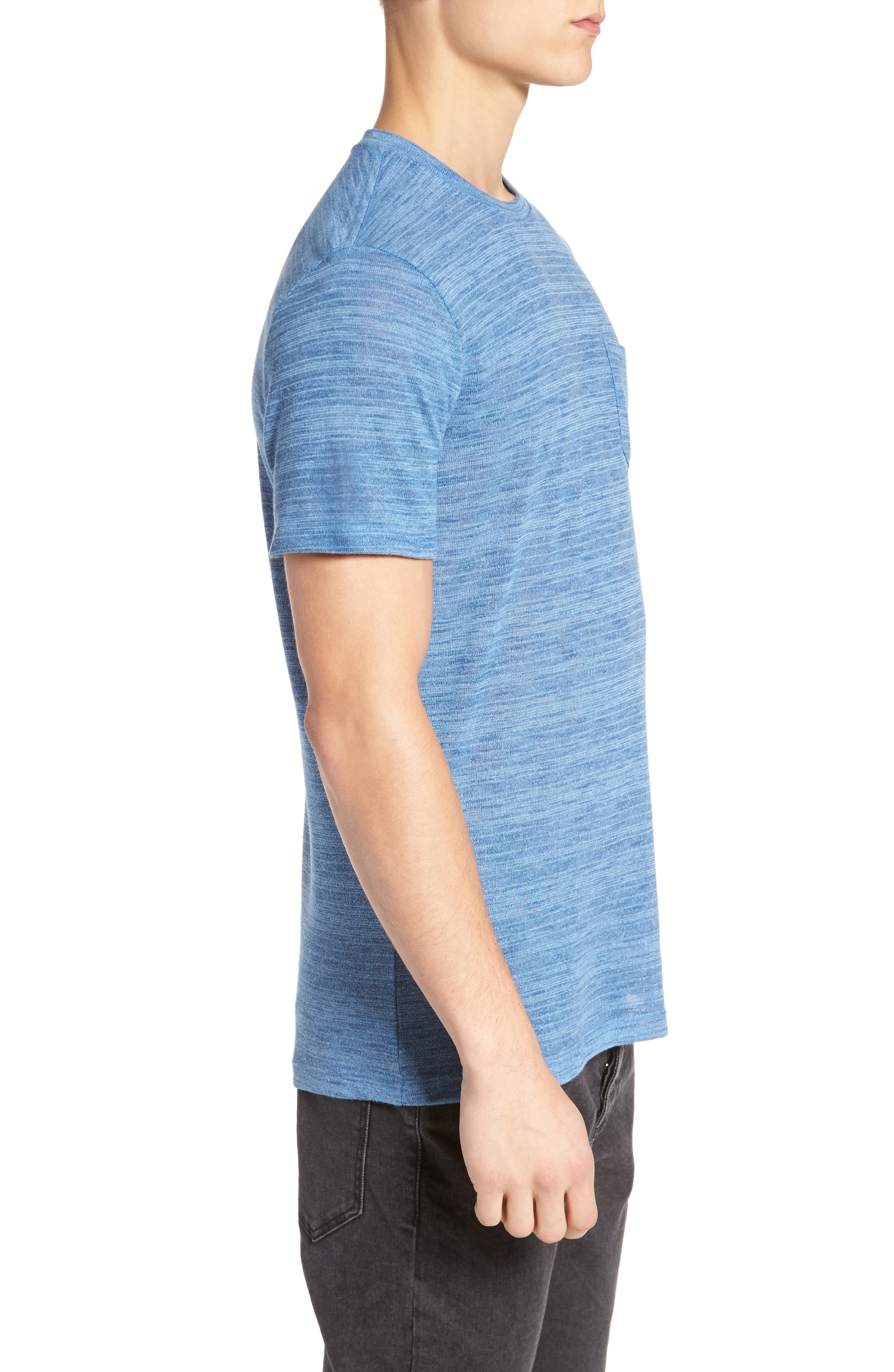 Alternate Image 3  - The Rail Slubbed Pocket T-Shirt