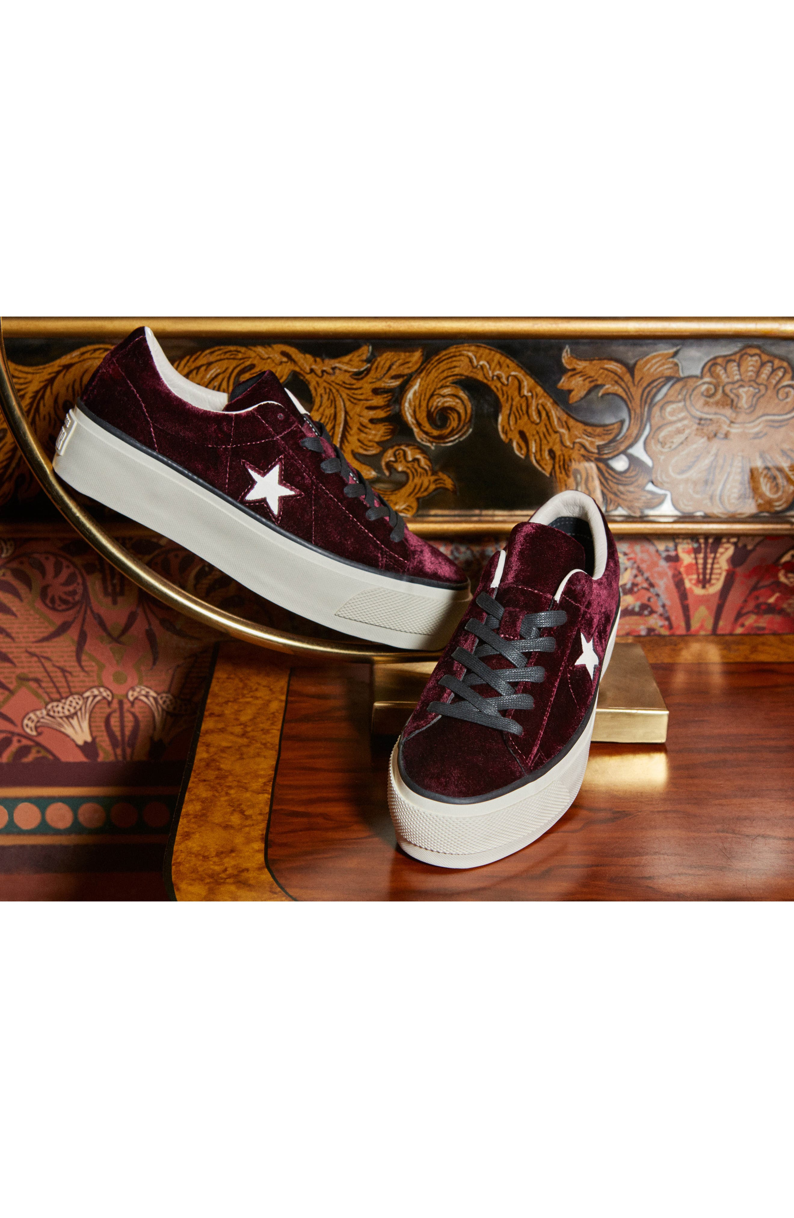 Alternate Image 8  - Converse Chuck Taylor® One Star Platform Sneaker (Women)