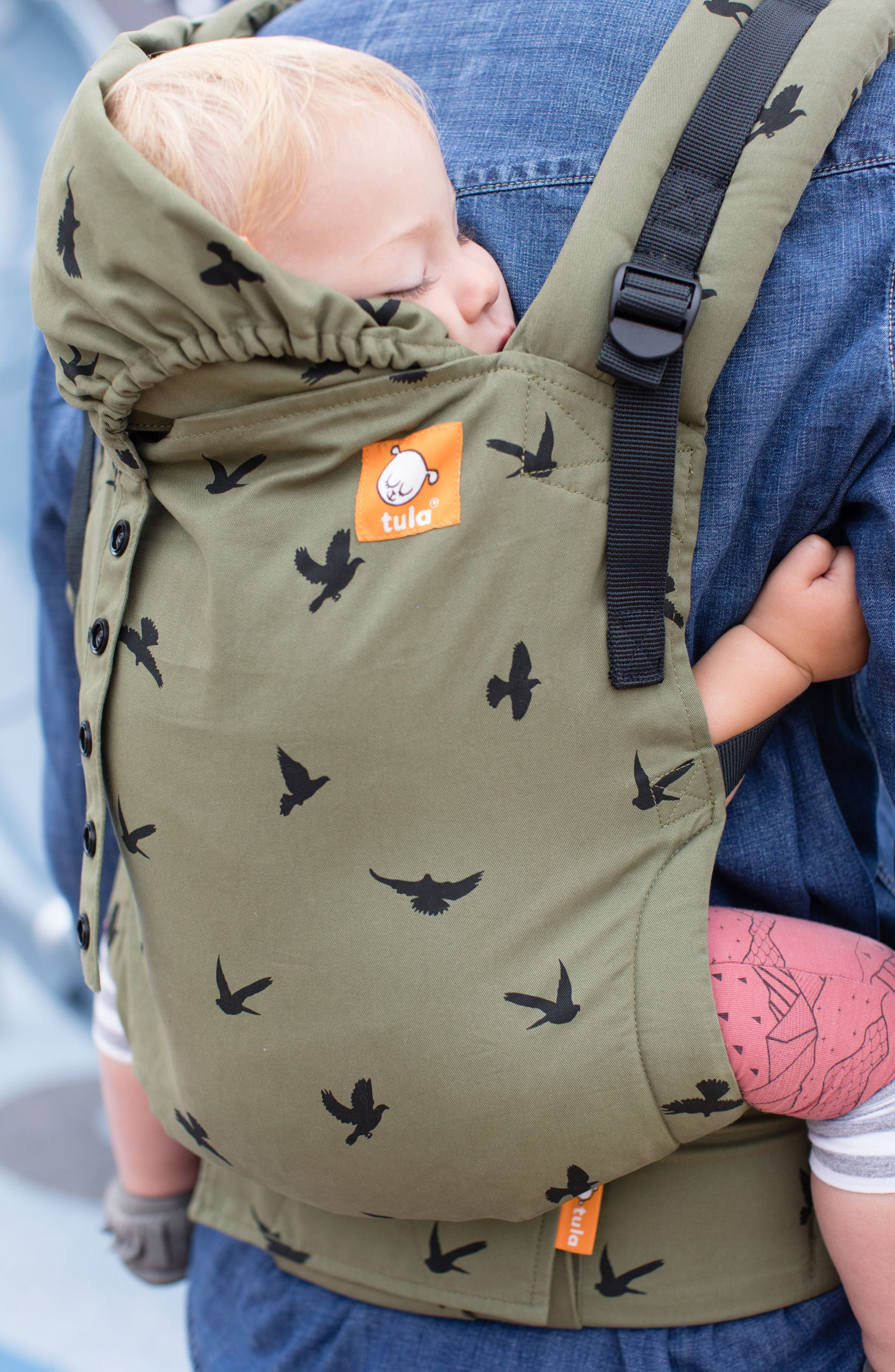 Alternate Image 4  - Baby Tula Soar Free-to-Grow Baby Carrier