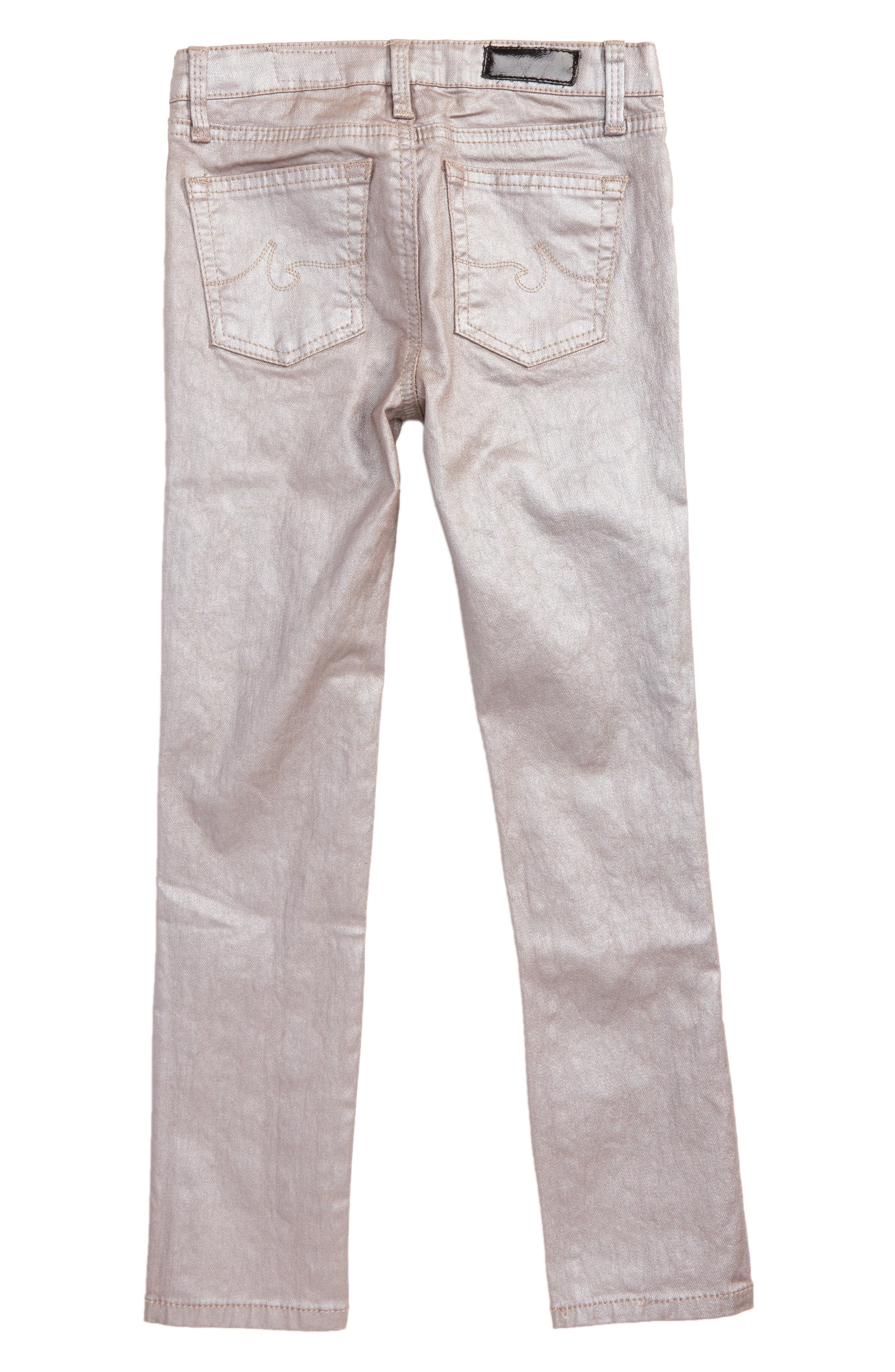 Alternate Image 2  - ag adriano goldschmied kids The Sleek Twiggy Skinny Ankle Jeans (Toddler Girls & Little Girls)