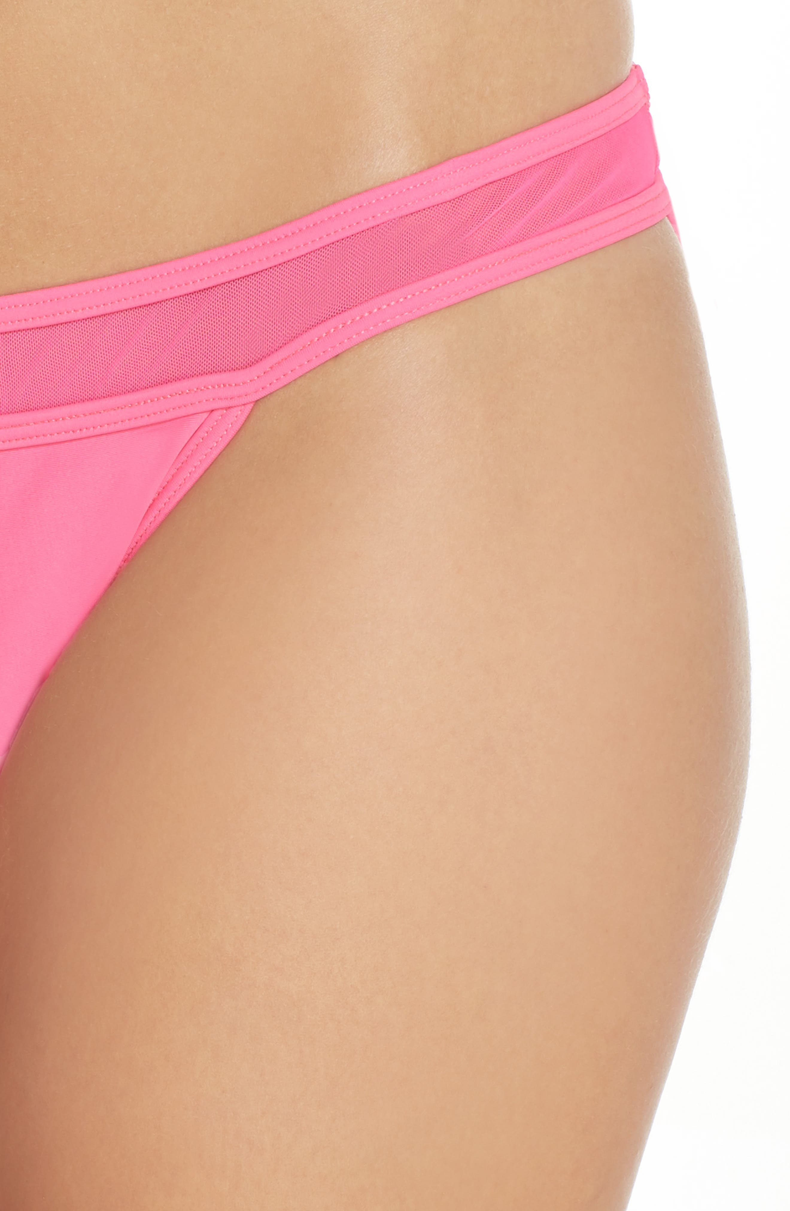 Alternate Image 4  - Ted Baker London Mesh Inset Bikini Bottoms