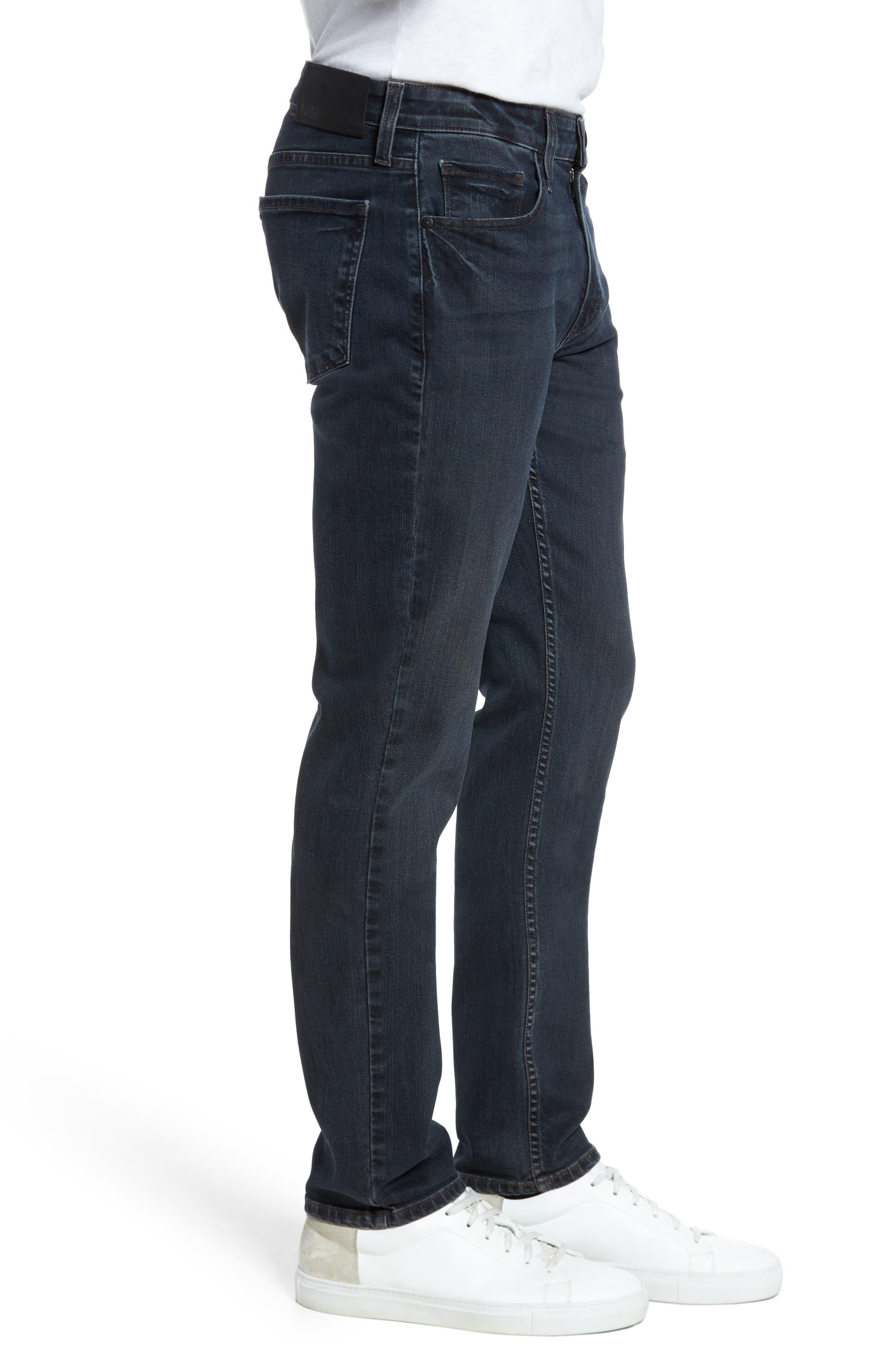 Lennox Slim Fit Jeans,                             Alternate thumbnail 3, color,                             Triton