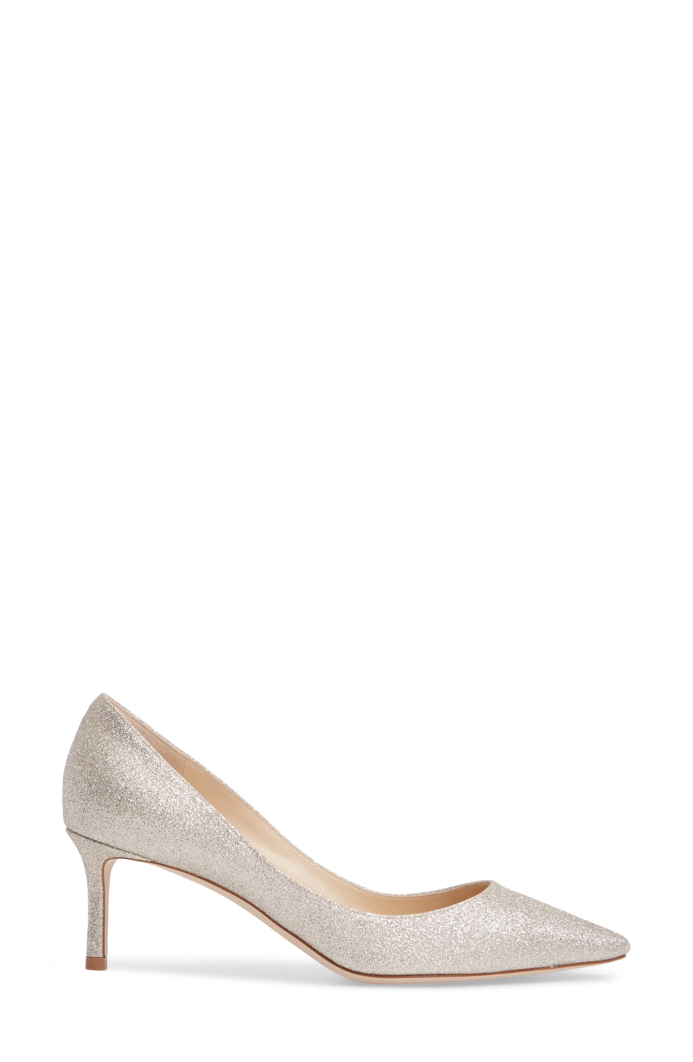 Alternate Image 3  - Jimmy Choo Romy Glitter Pump (Women)