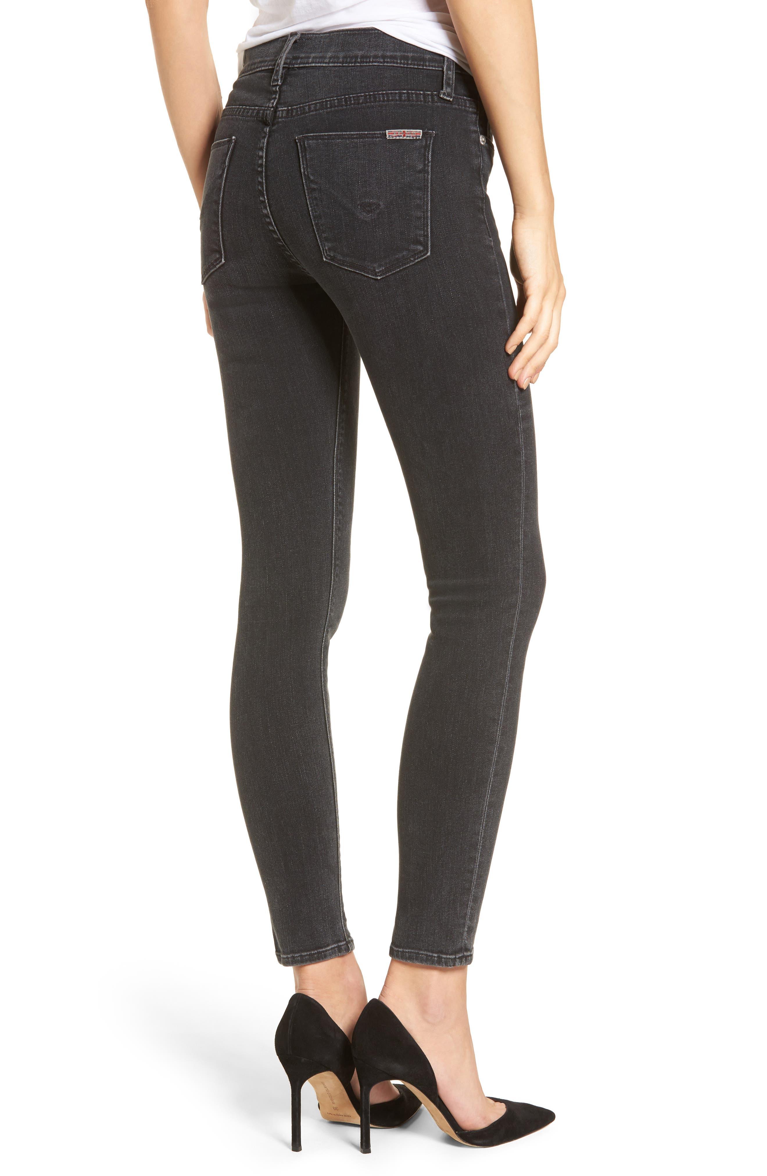 Nico Ankle Skinny Jeans,                             Alternate thumbnail 2, color,                             Omega