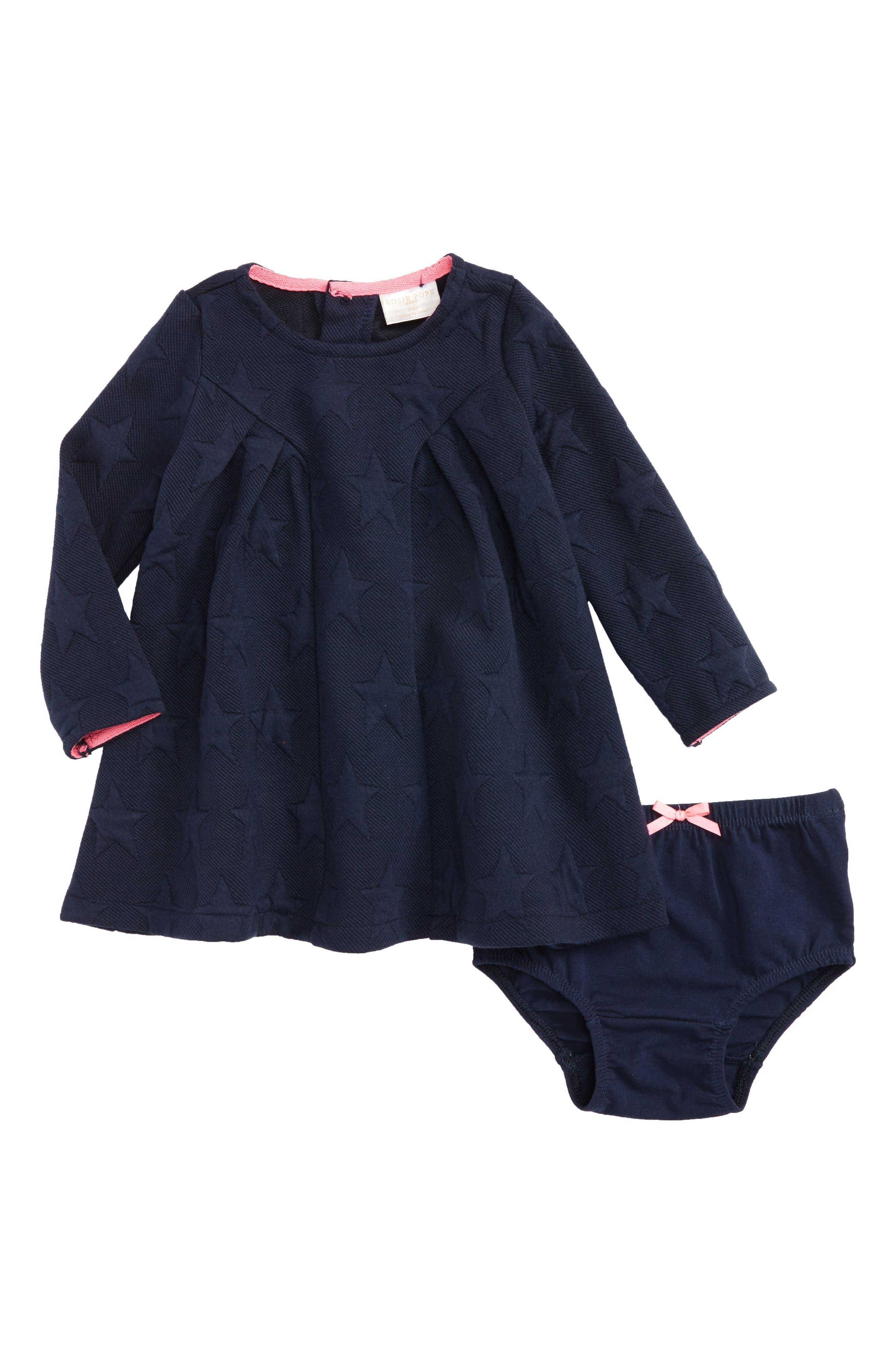 Rosie Pope 3D Star Dress (Baby Girls)