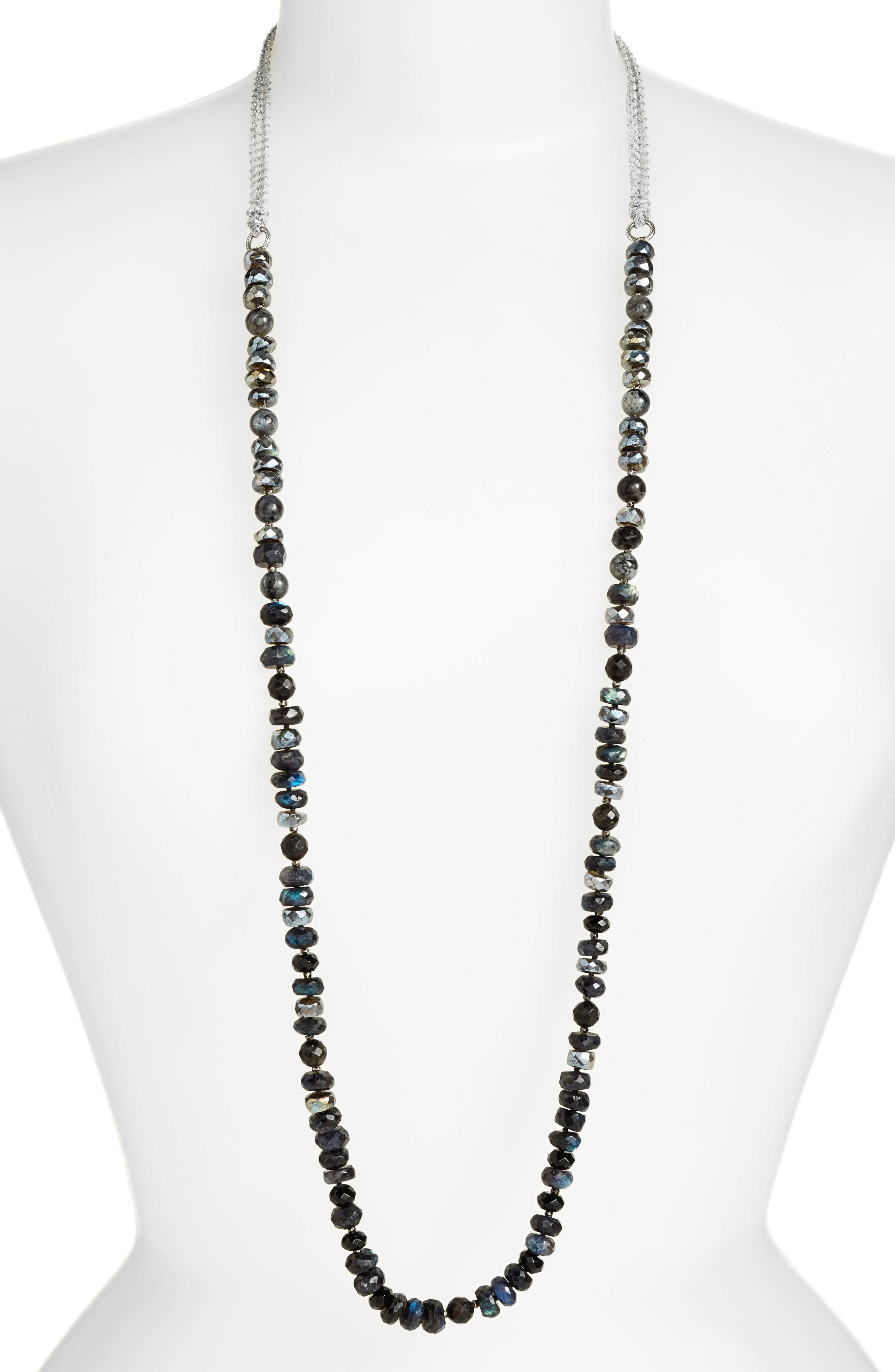 Chan Luu Adjustable Semiprecious Stone Necklace