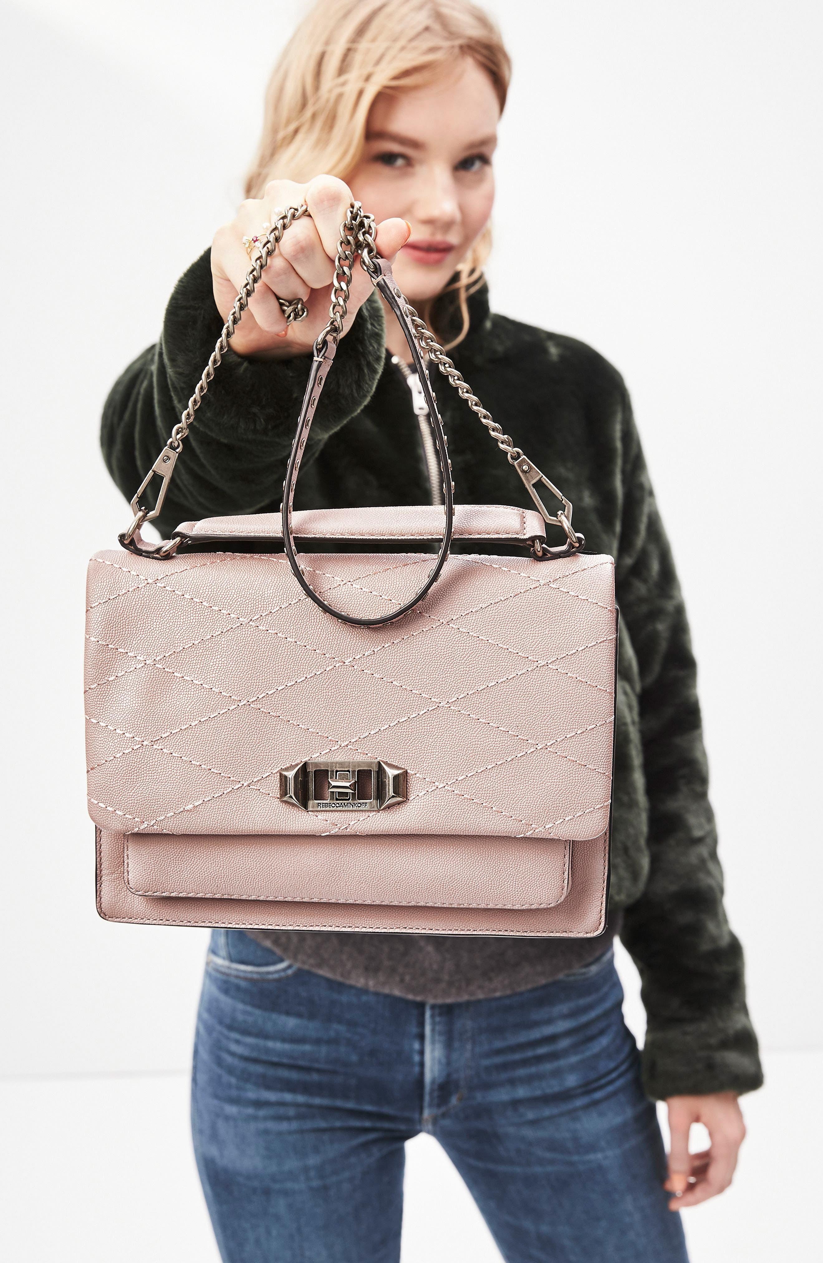 Alternate Image 7  - Rebecca Minkoff Medium Je T'aime Convertible Leather Crossbody Bag
