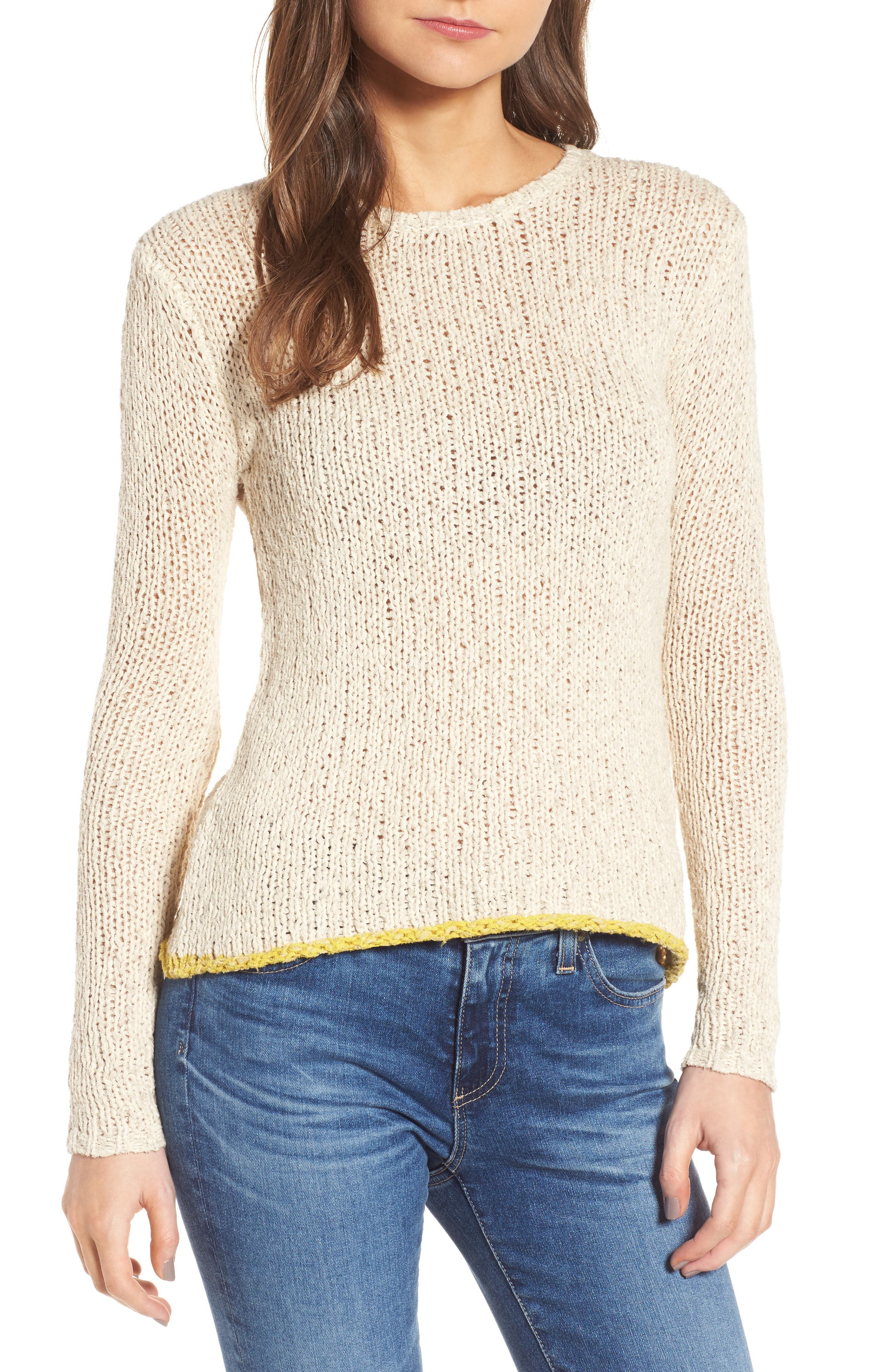 James Perse Open Stitch Sweater