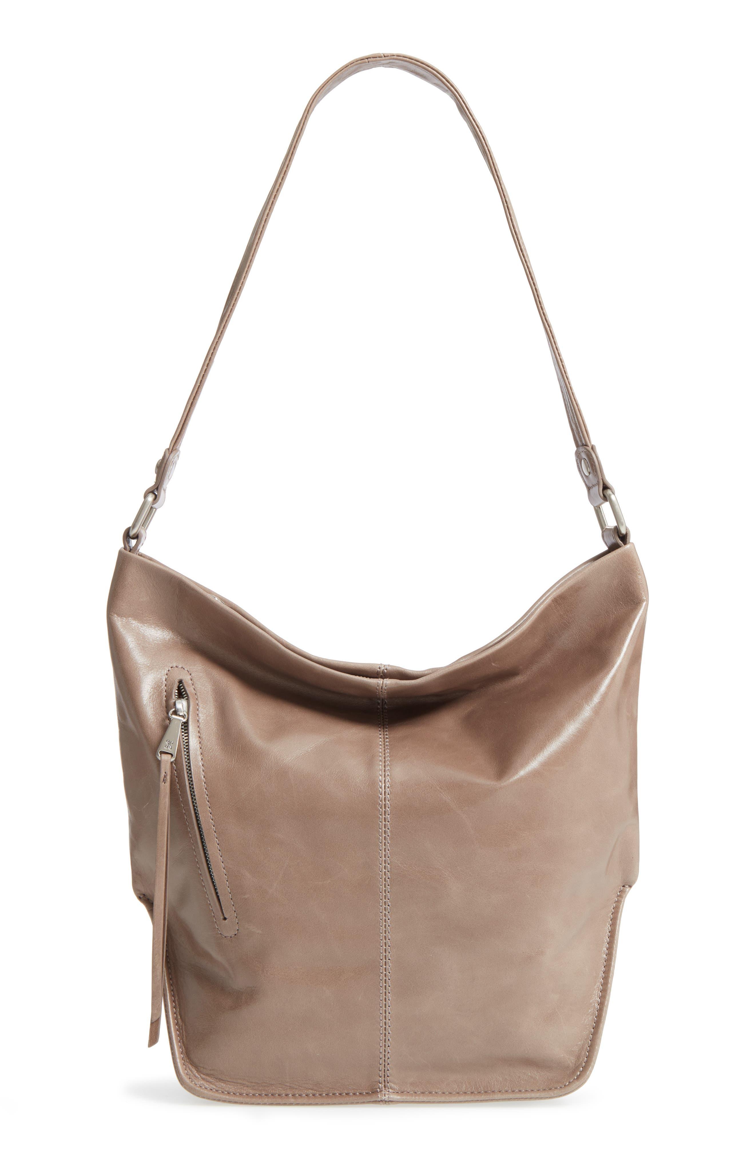 Hobo 'Meredith' Leather Bucket Bag