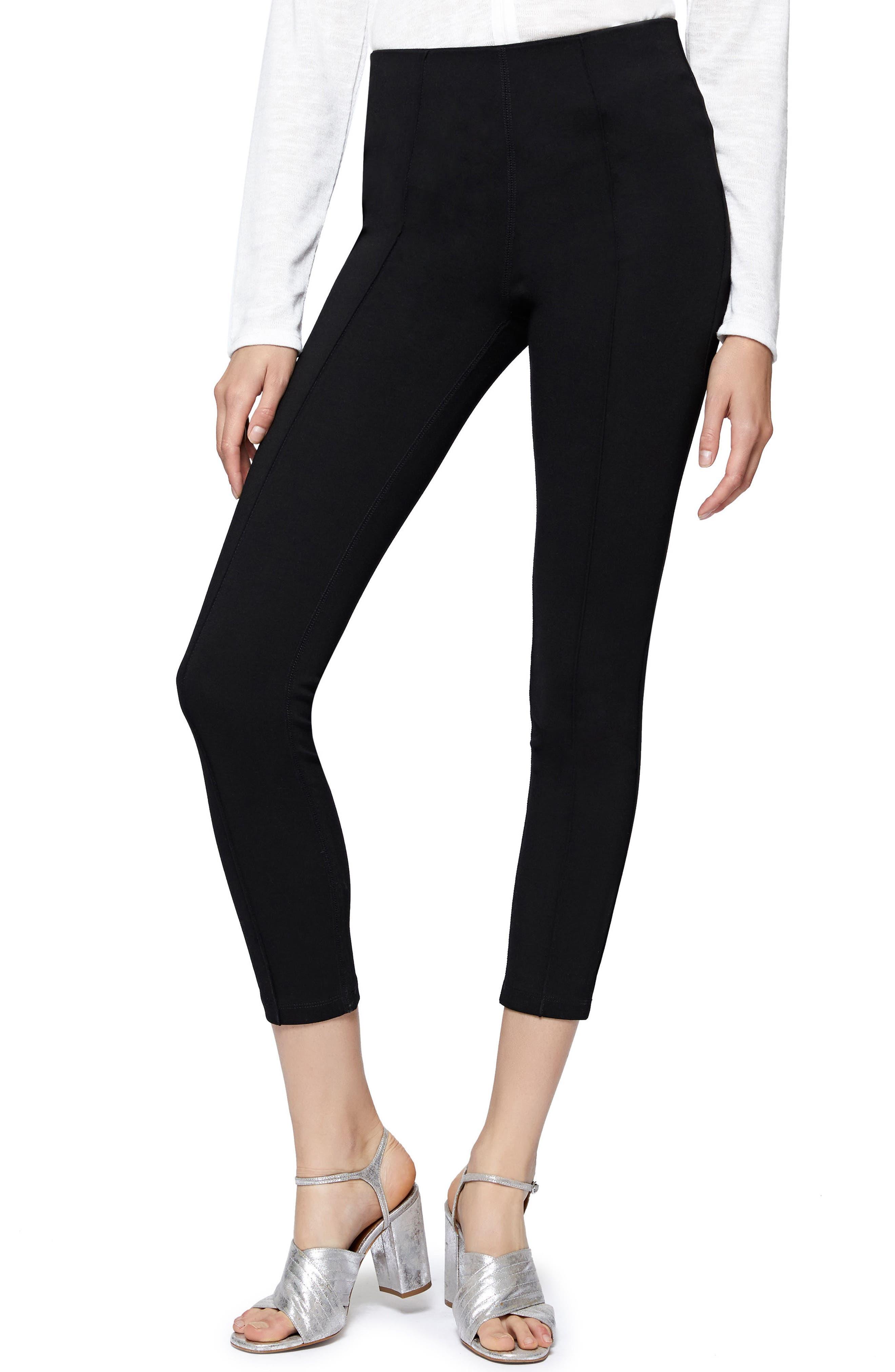 Capri Leggings,                         Main,                         color, Black
