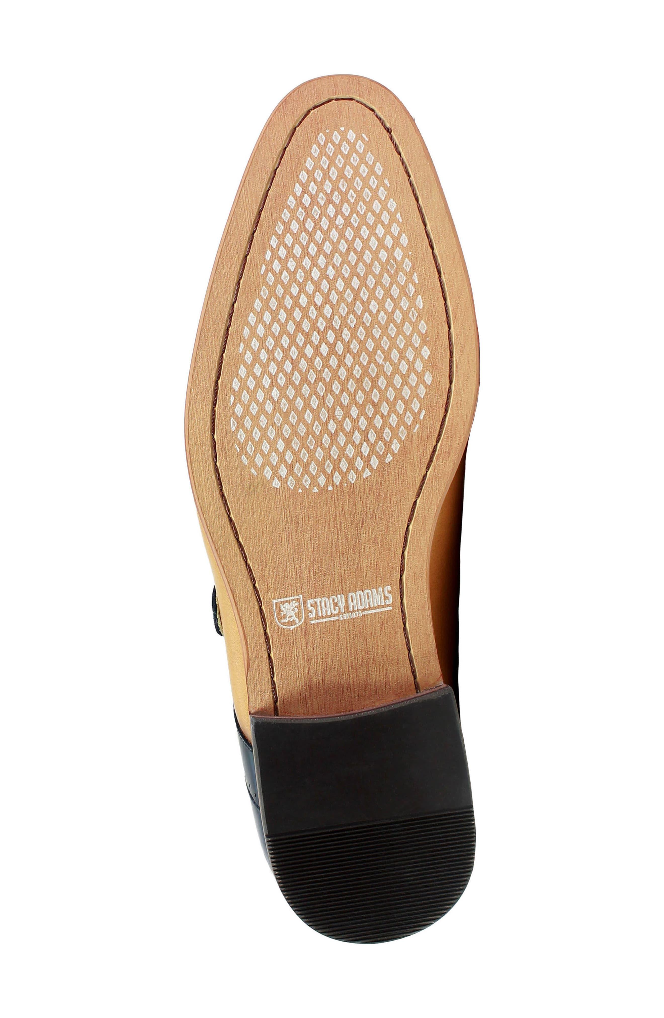 Alternate Image 6  - Stacy Adams Saxon Perforated Monk Shoe (Men)