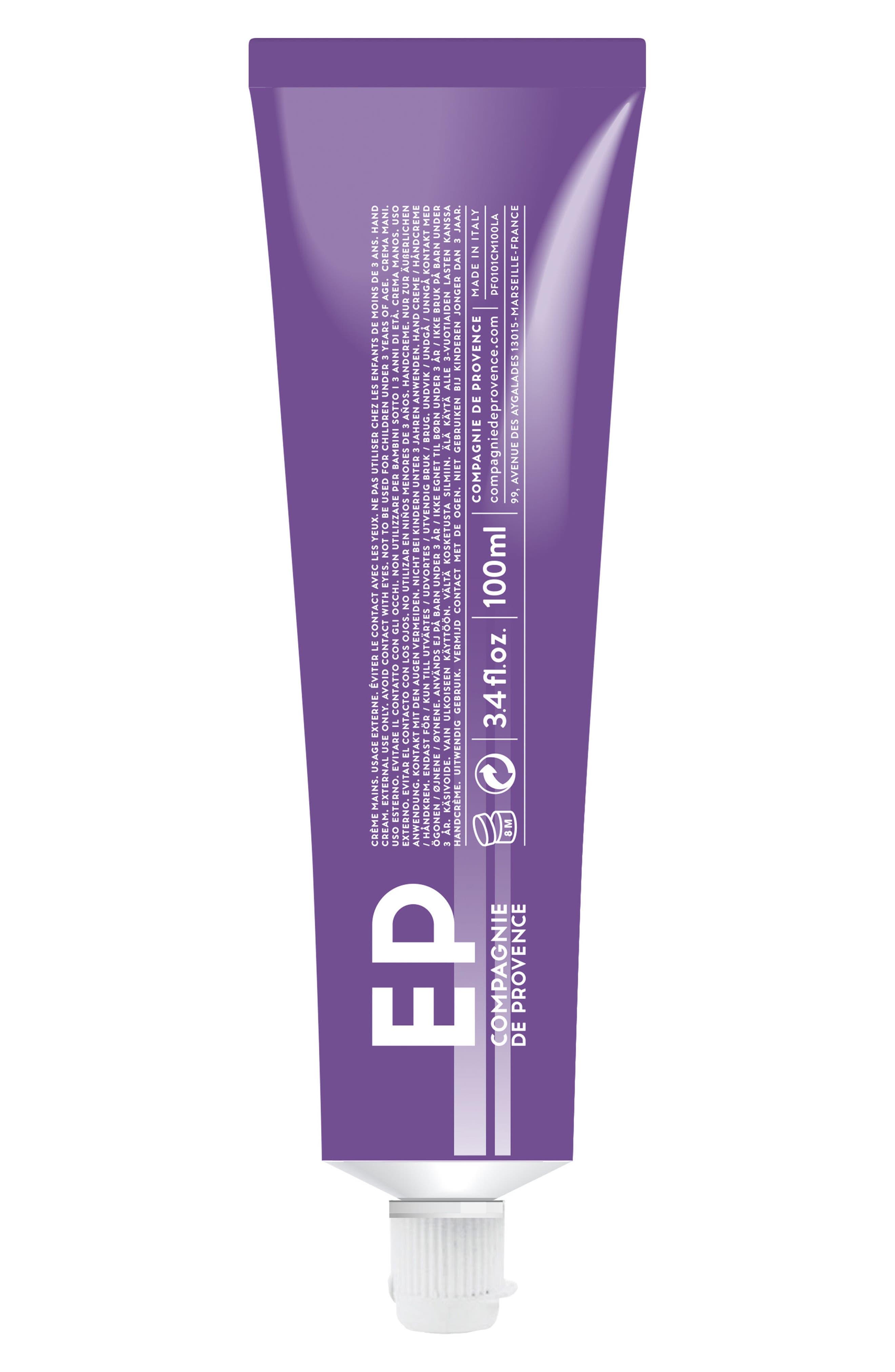 Alternate Image 2  - Compagnie de Provence Aromatic Lavender Moisturizing Hand Cream