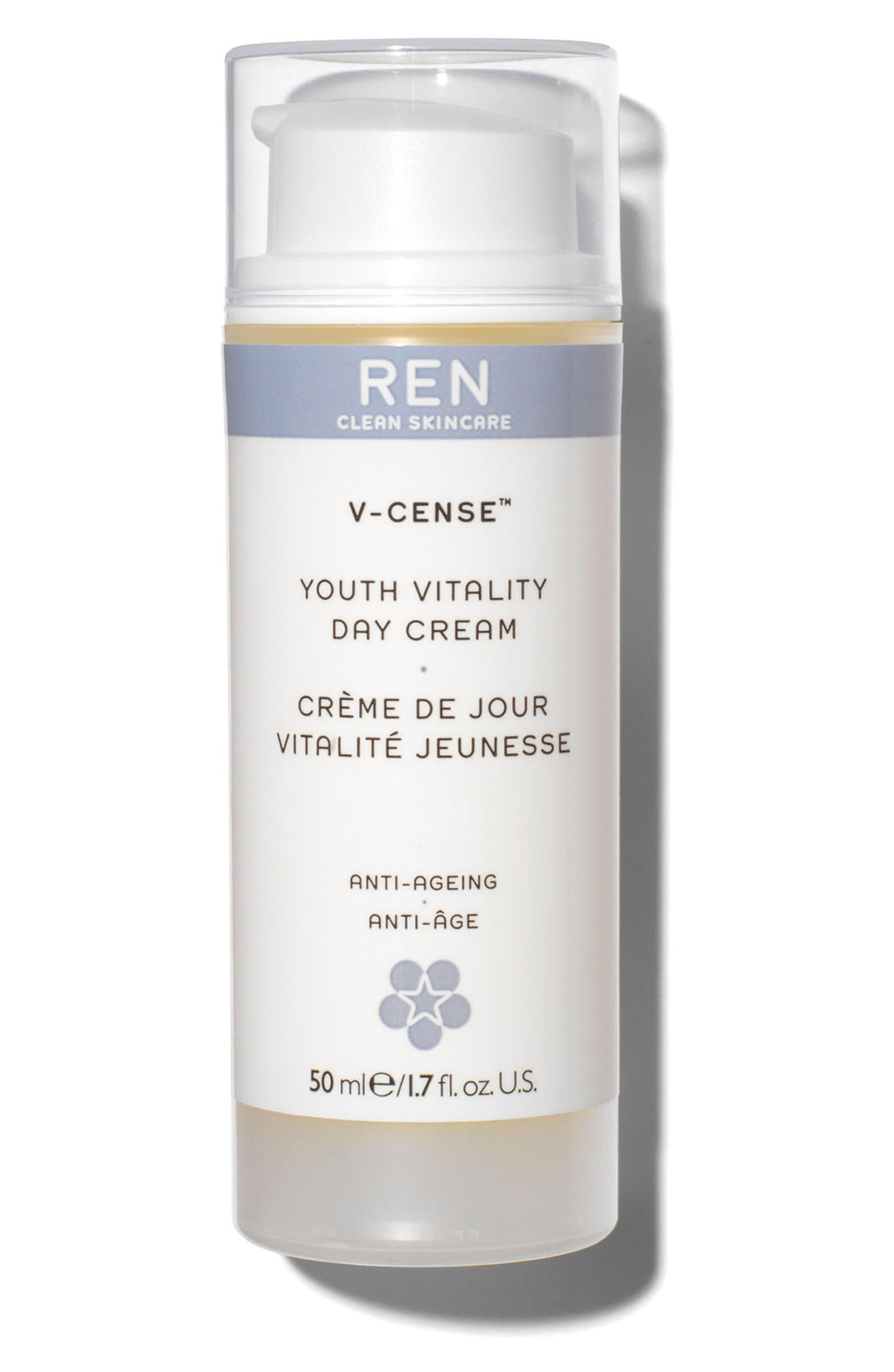 SPACE.NK.apothecary REN V-Cense<sup>™</sup> Youth Vitality Day Cream,                         Main,                         color, No Color