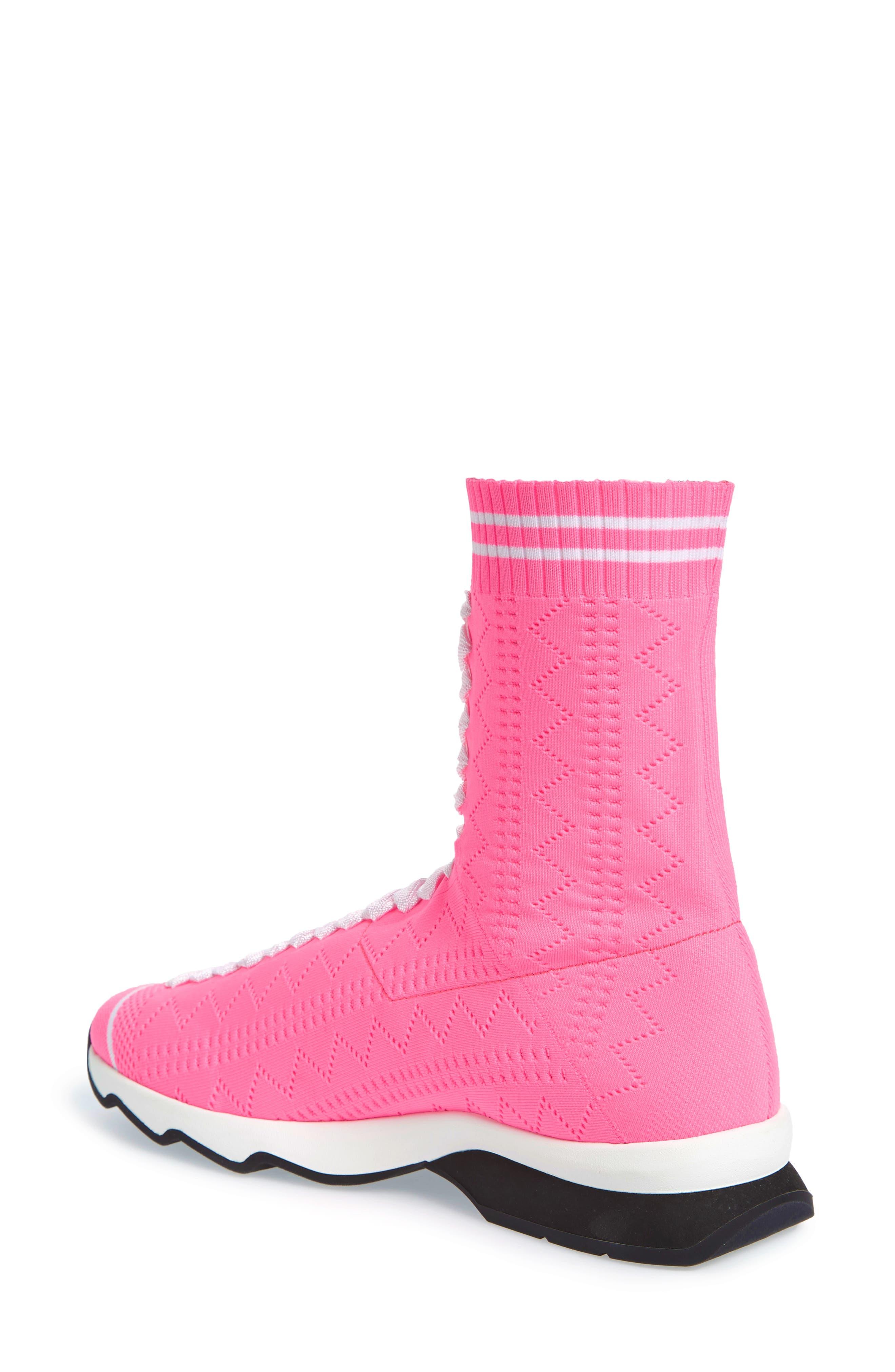 Rocko-Top Sock Sneaker,                             Alternate thumbnail 2, color,                             Pink