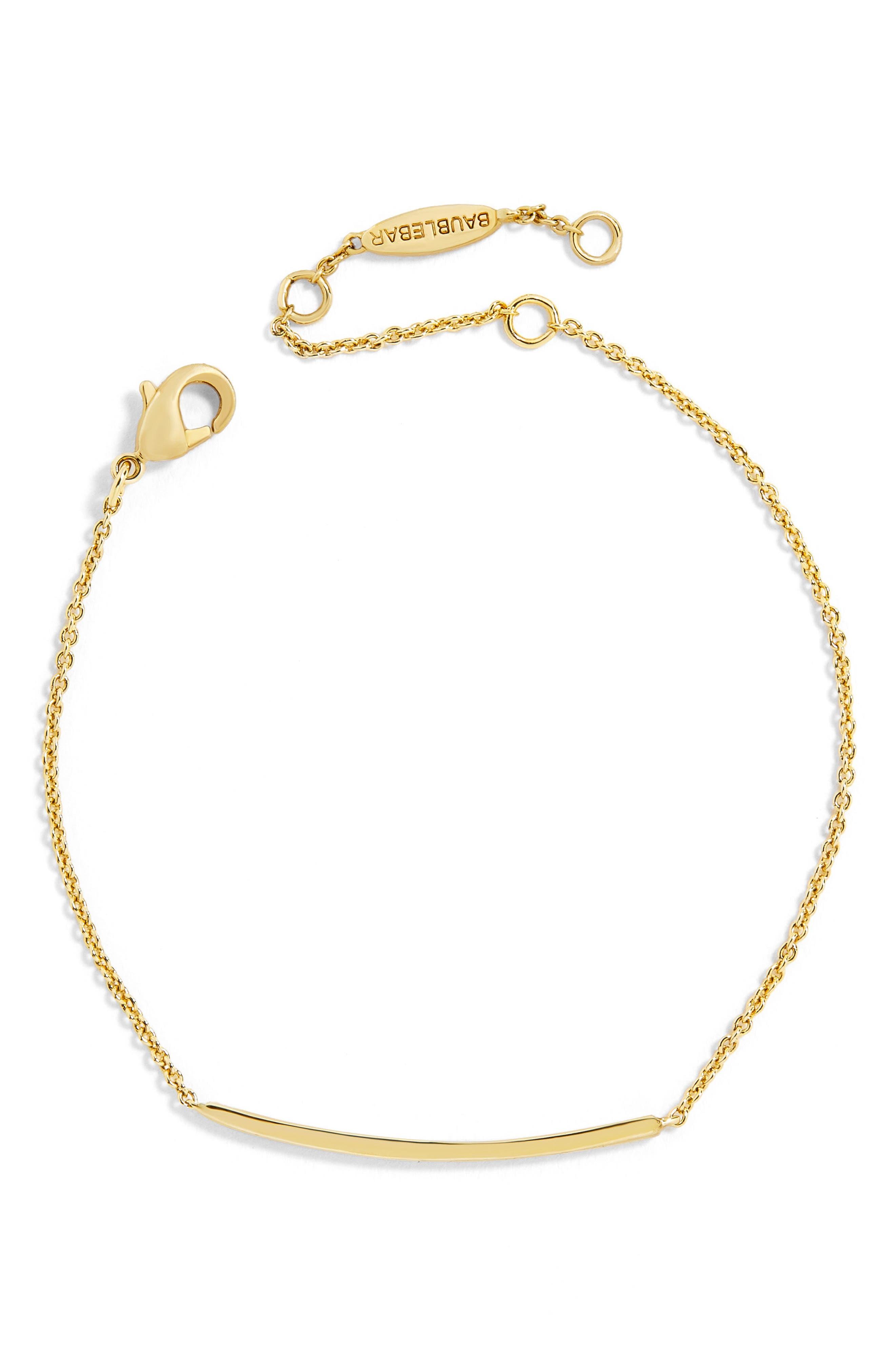 Alternate Image 1 Selected - BaubleBar Asta Everyday Fine Bracelet