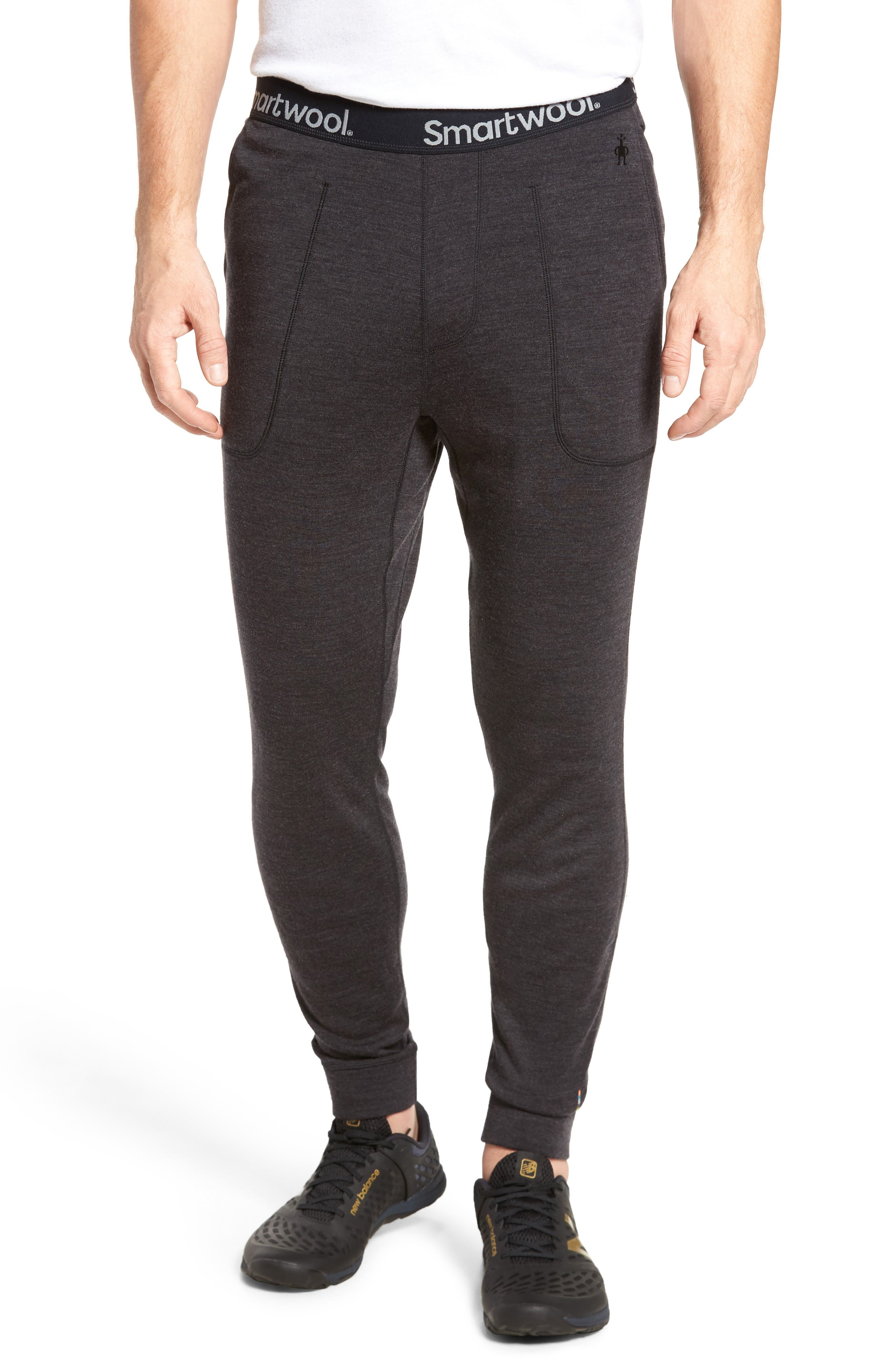 250 Merino Wool Jogger Pants,                             Main thumbnail 1, color,                             Charcoal