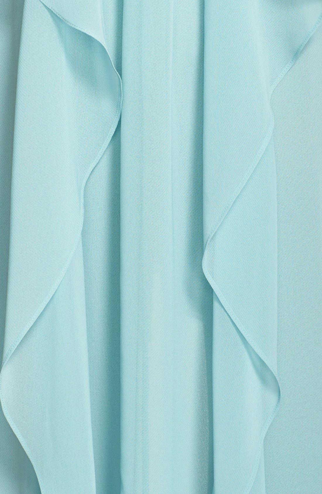 Alternate Image 3  - BCBGMAXAZRIA 'Kelsia' Ruffle Georgette Trapeze Dress