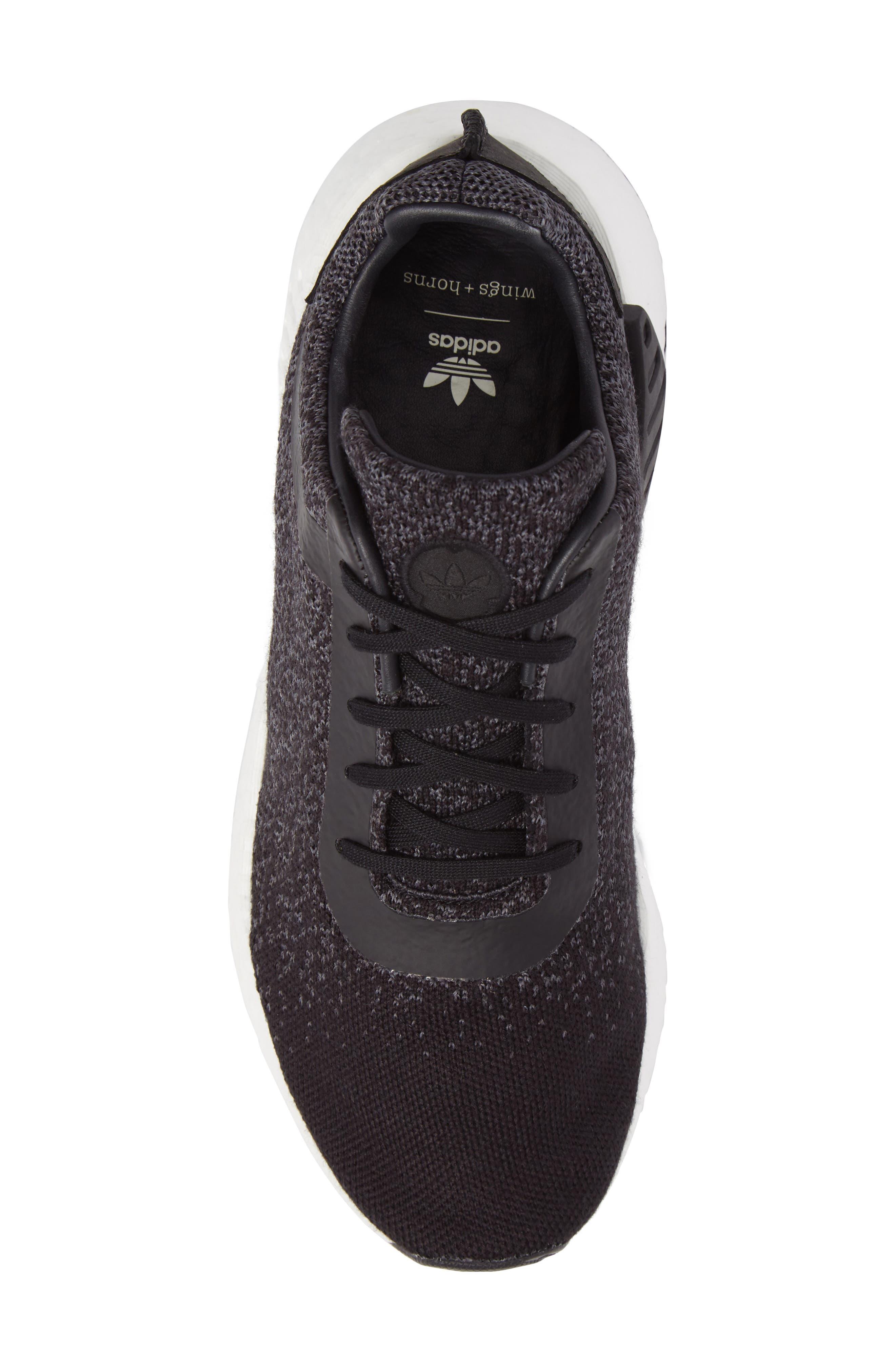 Alternate Image 5  - adidas x wings + horns Primeknit NMD_R2 Sneaker (Men)
