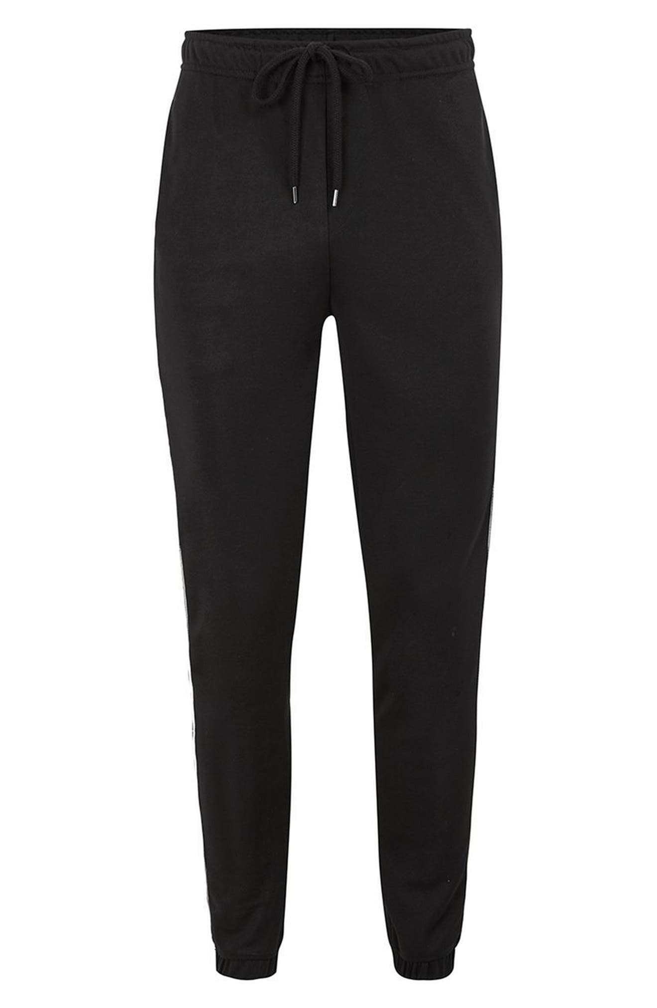 Alternate Image 4  - Topman Piped Jogger Pants