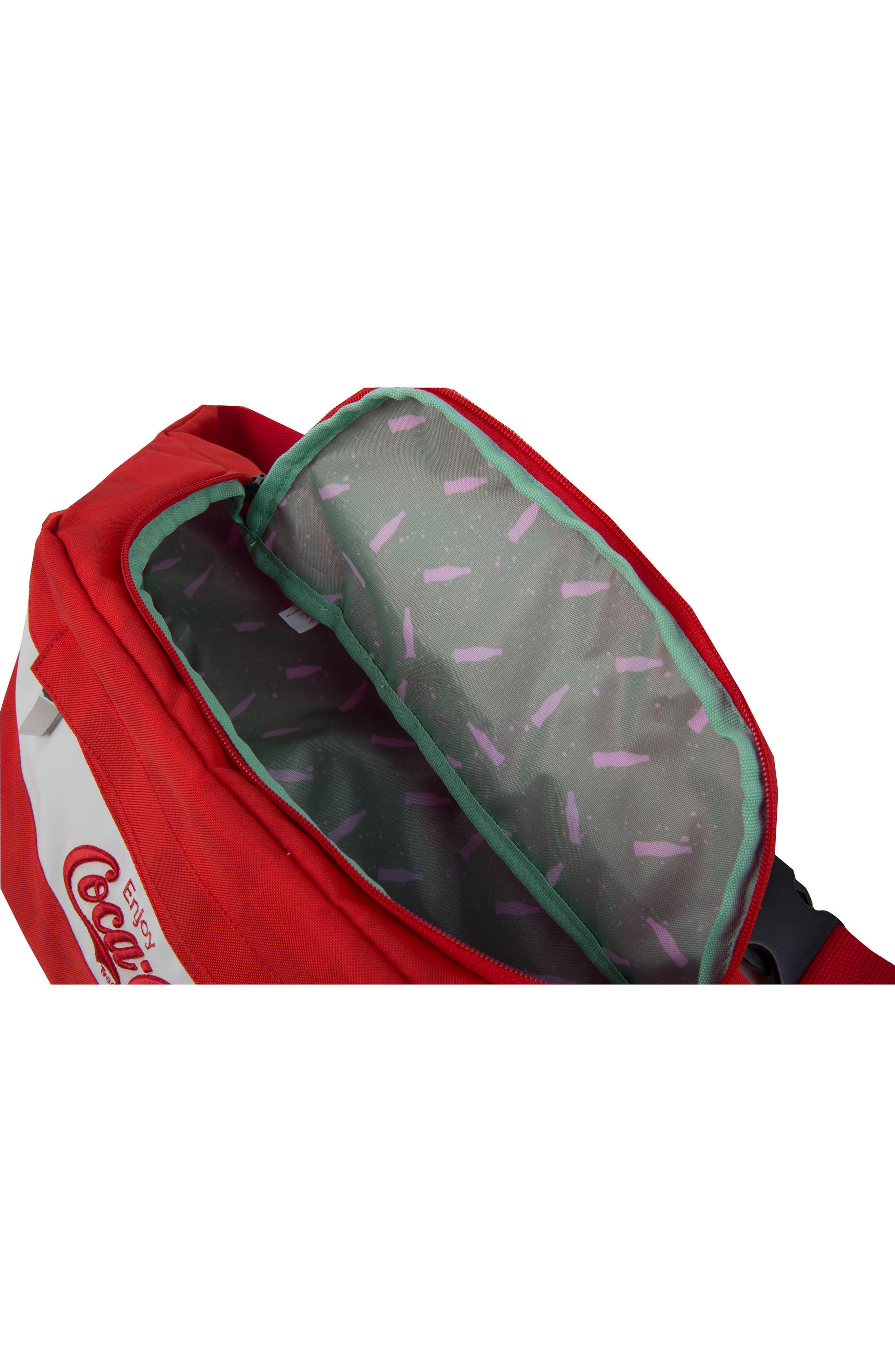 Coca Cola Sneaker Sling,                             Alternate thumbnail 3, color,                             Red