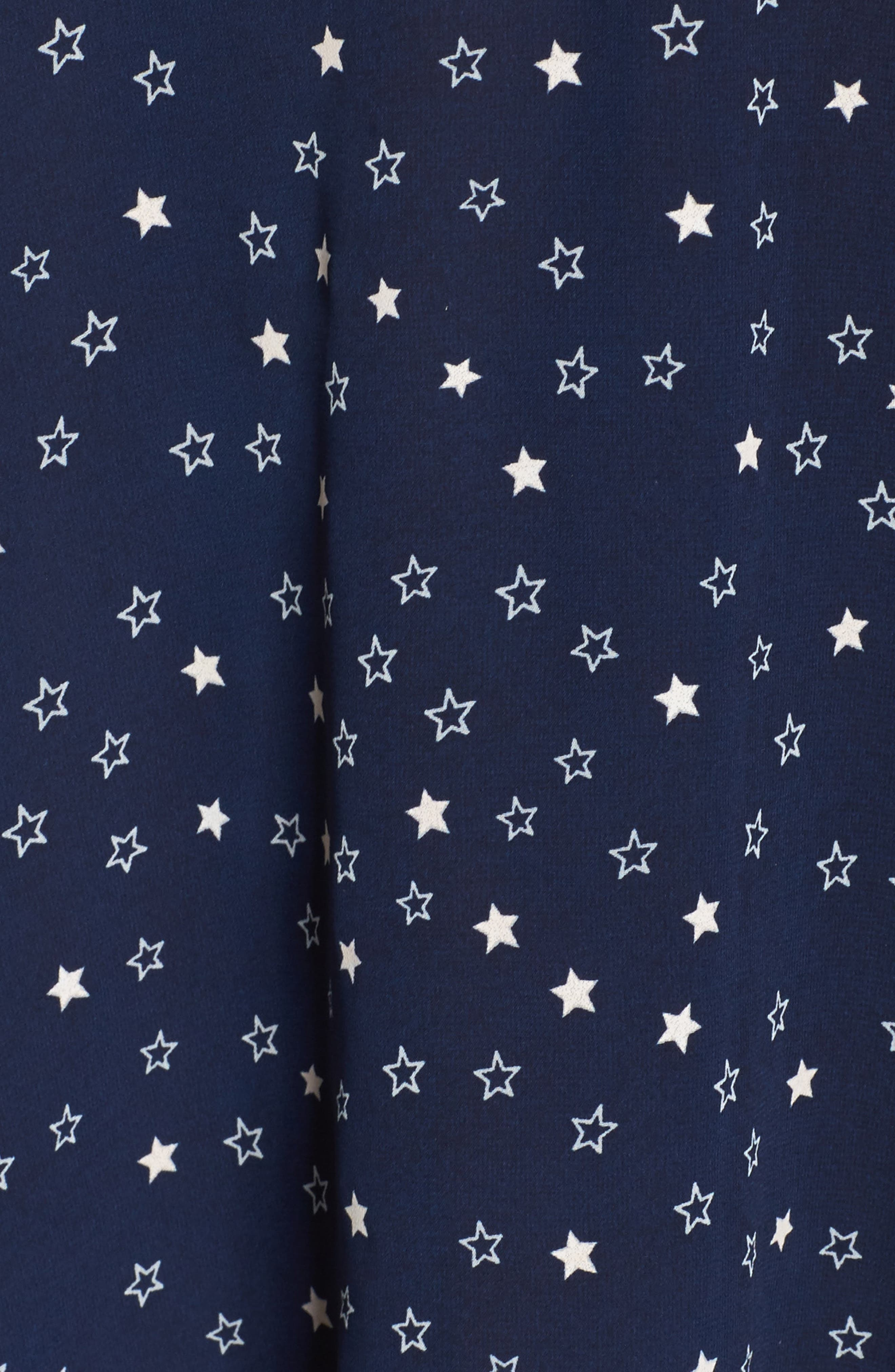 Alternate Image 5  - Glamorous Bell Sleeve Floral Minidress (Plus Size)