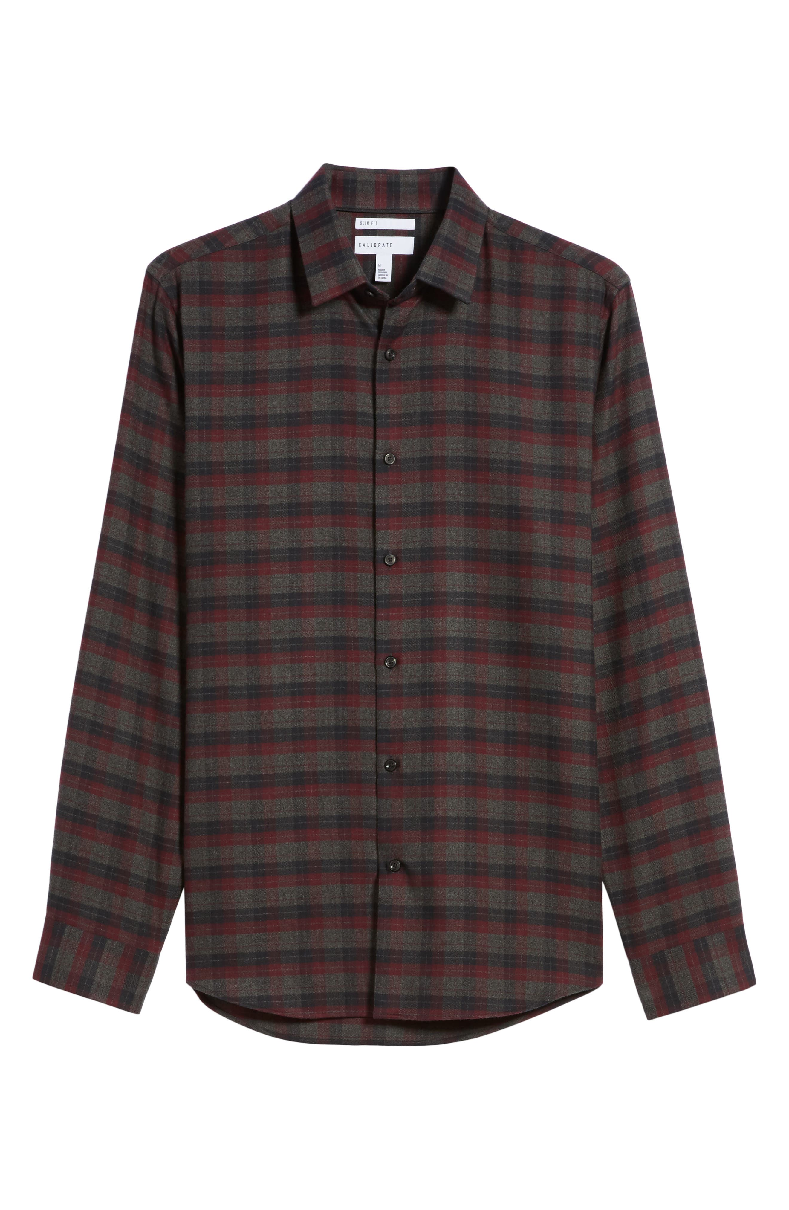 Alternate Image 6  - Calibrate Check Flannel Sport Shirt