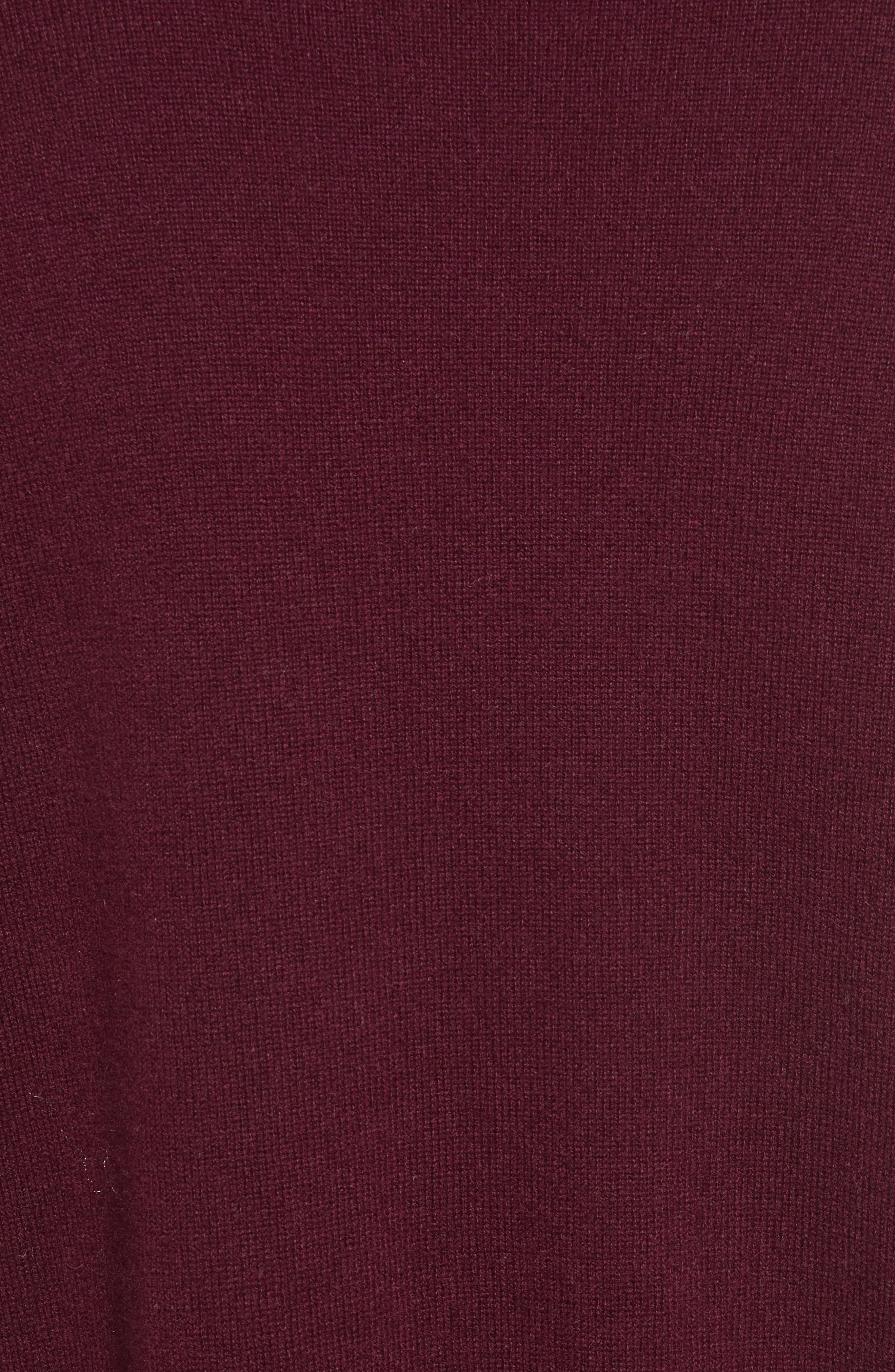Alternate Image 5  - autumn cashmere Ruffle Hem Crewneck Sweater