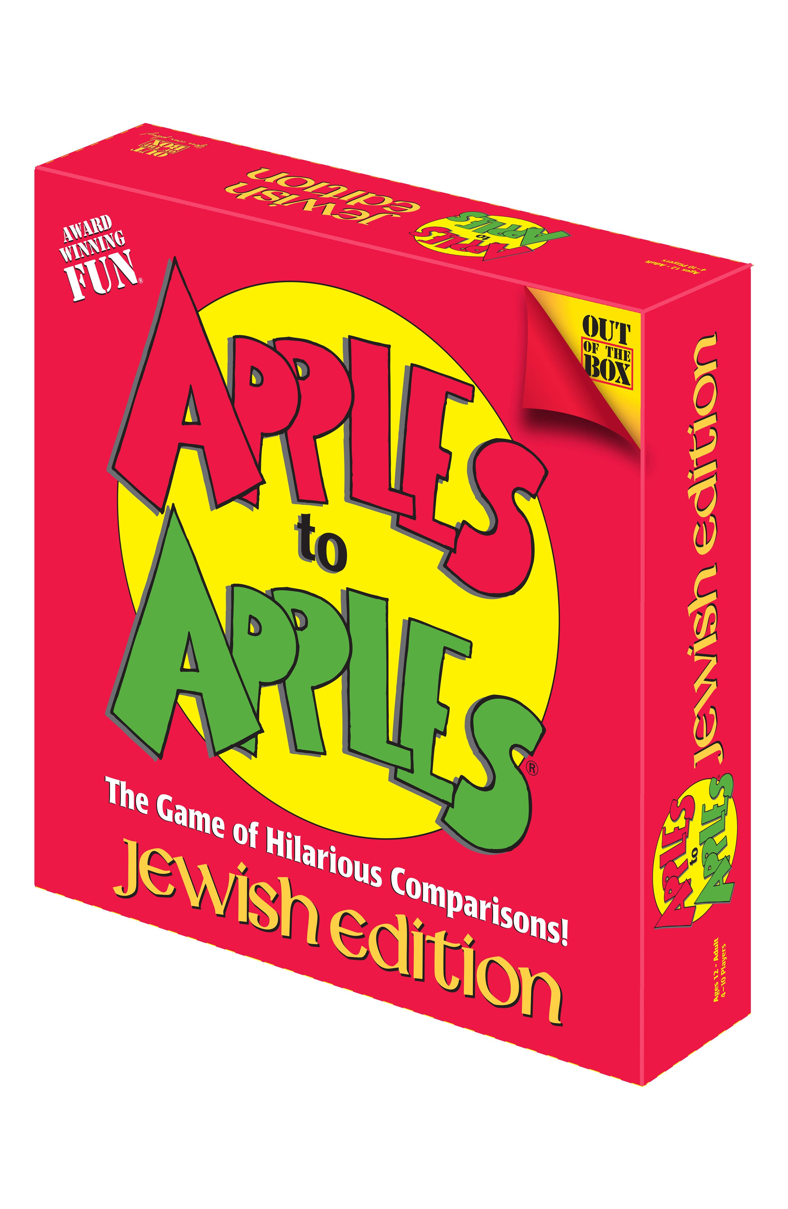 Apples to Apples<sup>®</sup>, Jewish Edition,                             Alternate thumbnail 3, color,                             Red