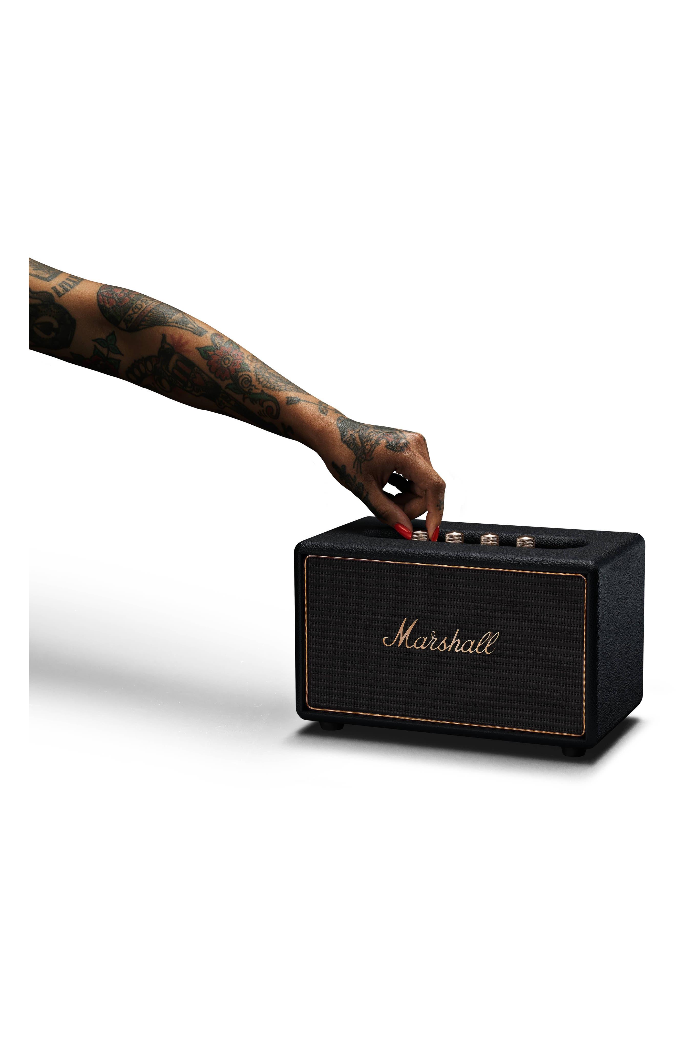 Acton Multi Room WiFi & Bluetooth Speaker,                             Alternate thumbnail 9, color,                             Black