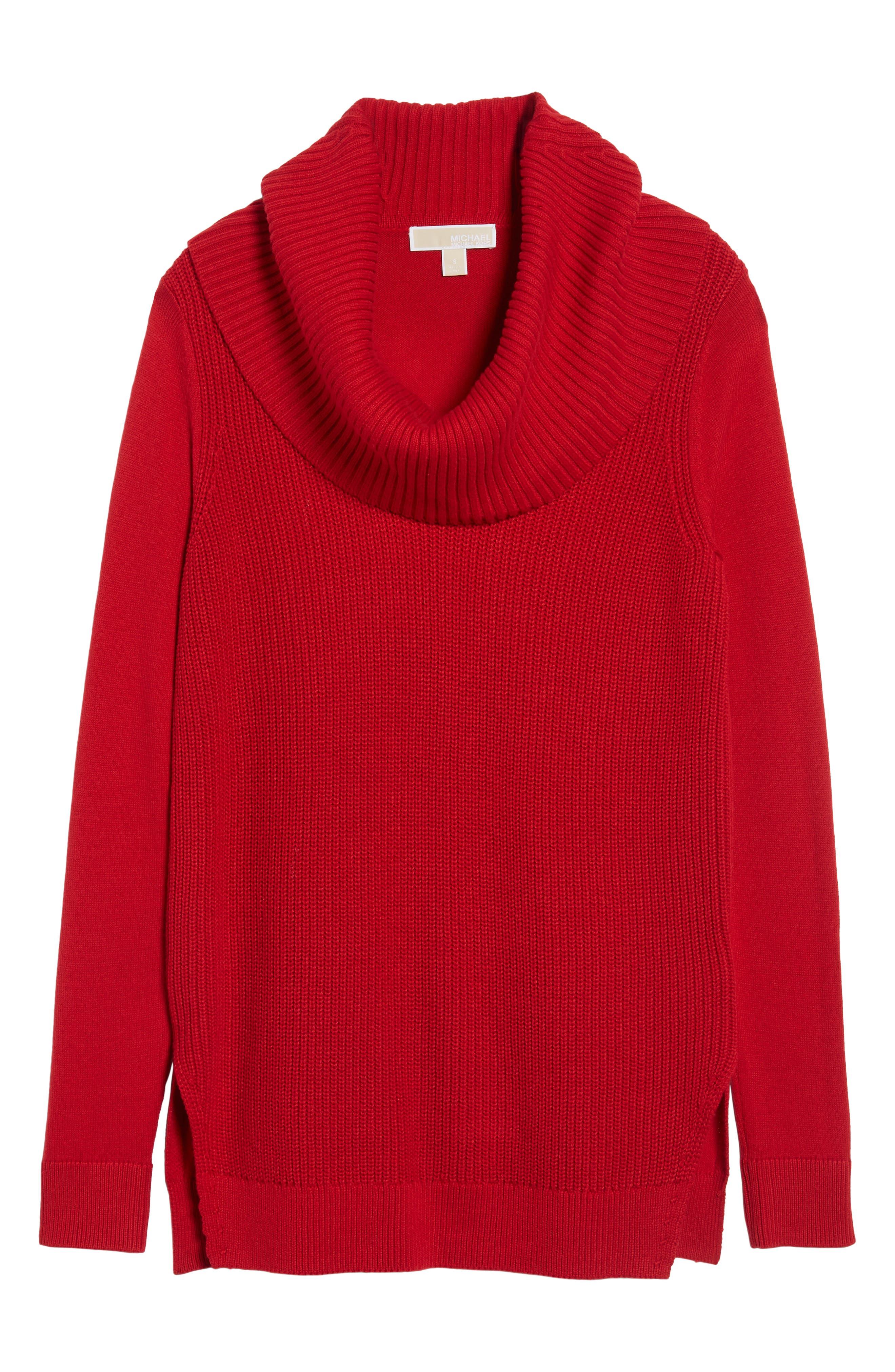 Alternate Image 6  - MICHAEL Michael Kors Cowl Neck Sweater