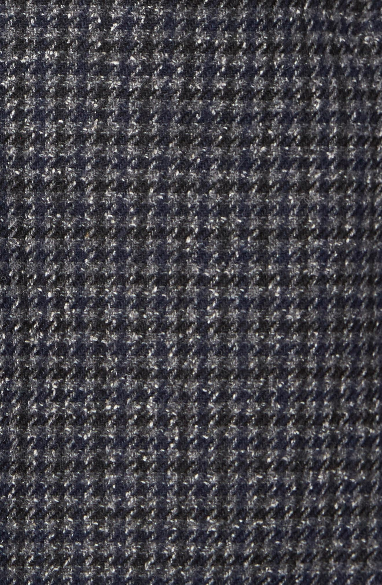 Alternate Image 5  - Bugatchi Wool Blend Houndstooth Blazer