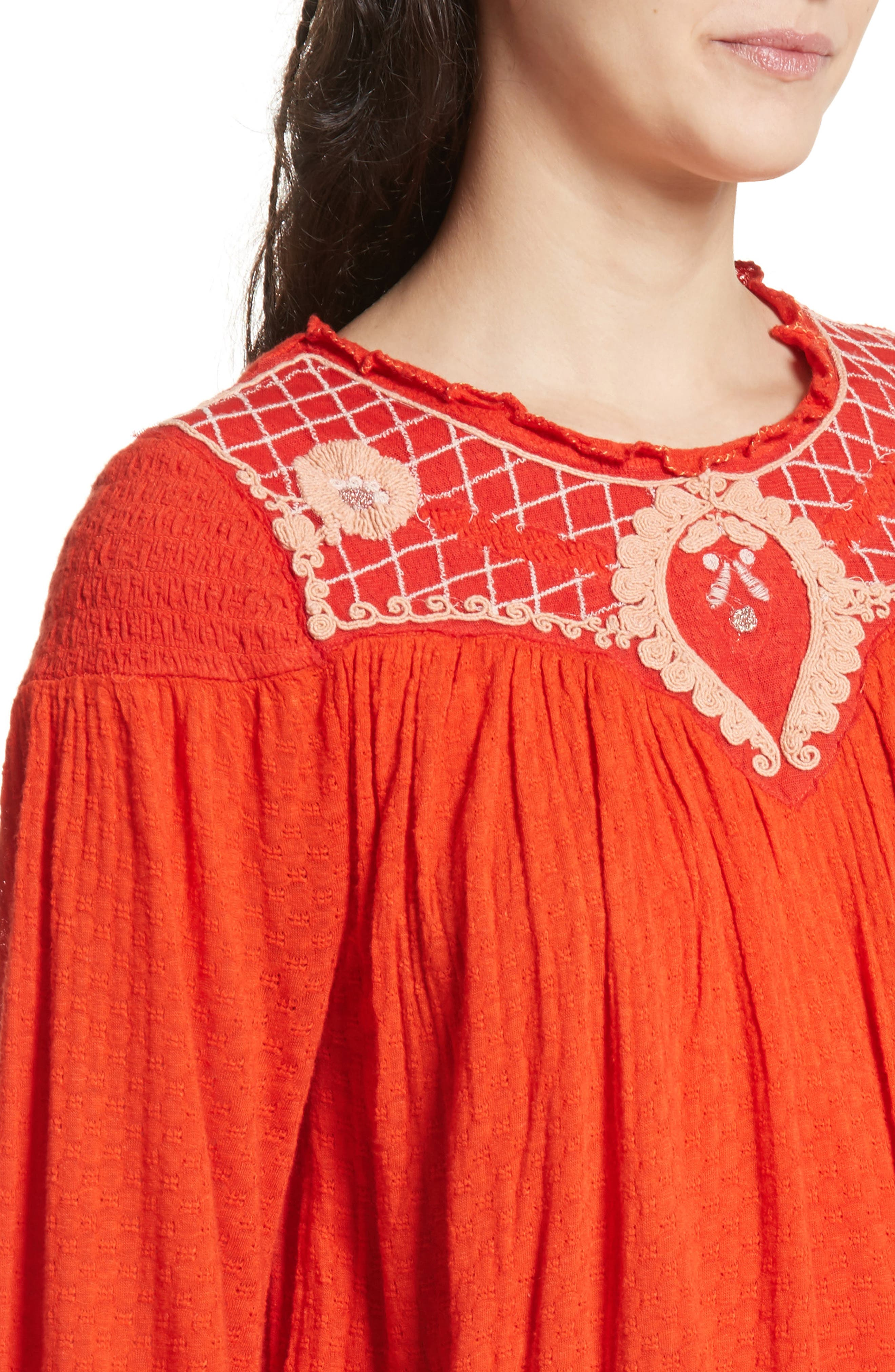 Begonia Top,                             Alternate thumbnail 4, color,                             Red