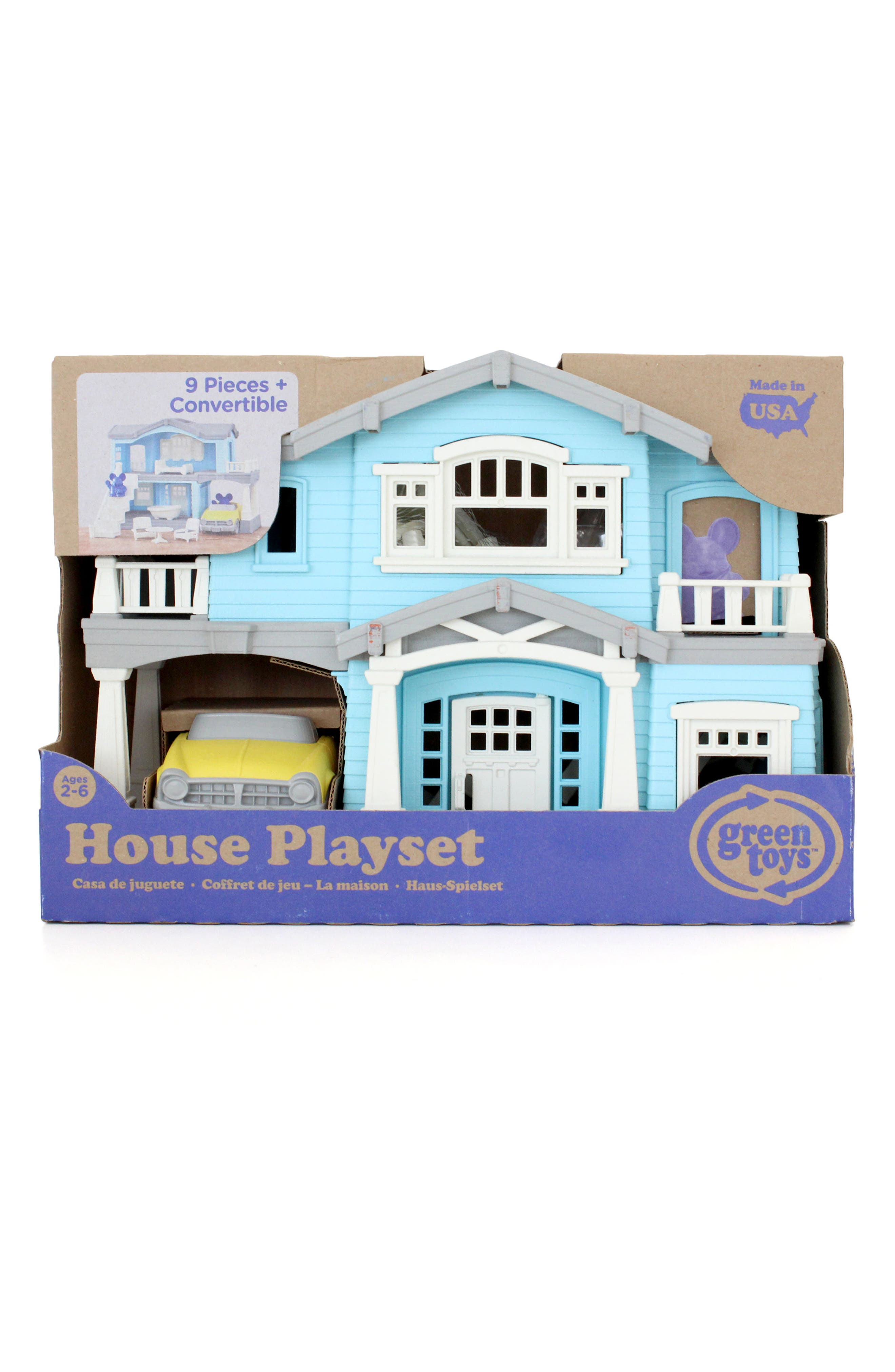 Main Image - Green Toys 10-Piece House Play Set