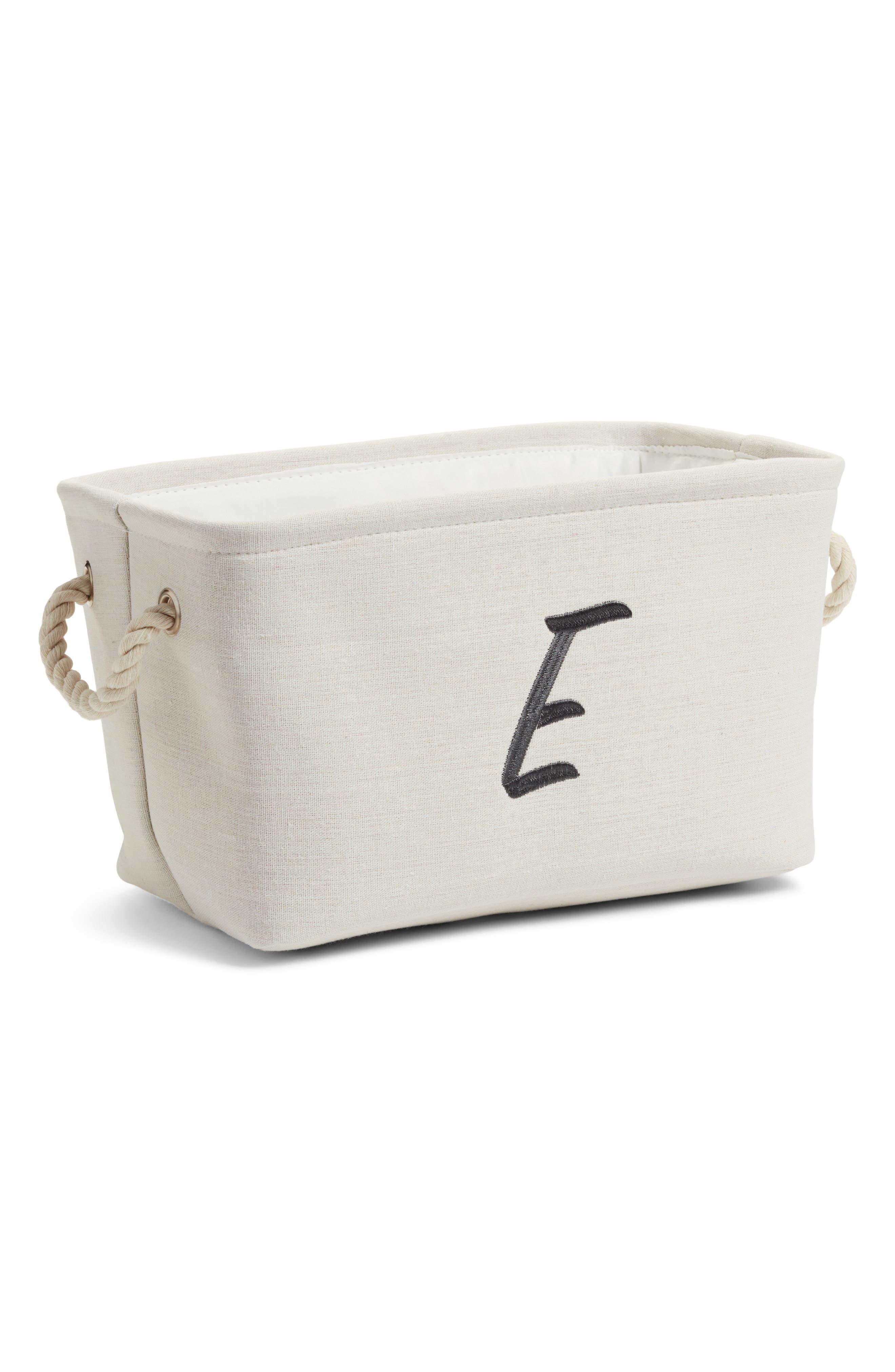 Levtex Initial Monogram Storage Basket
