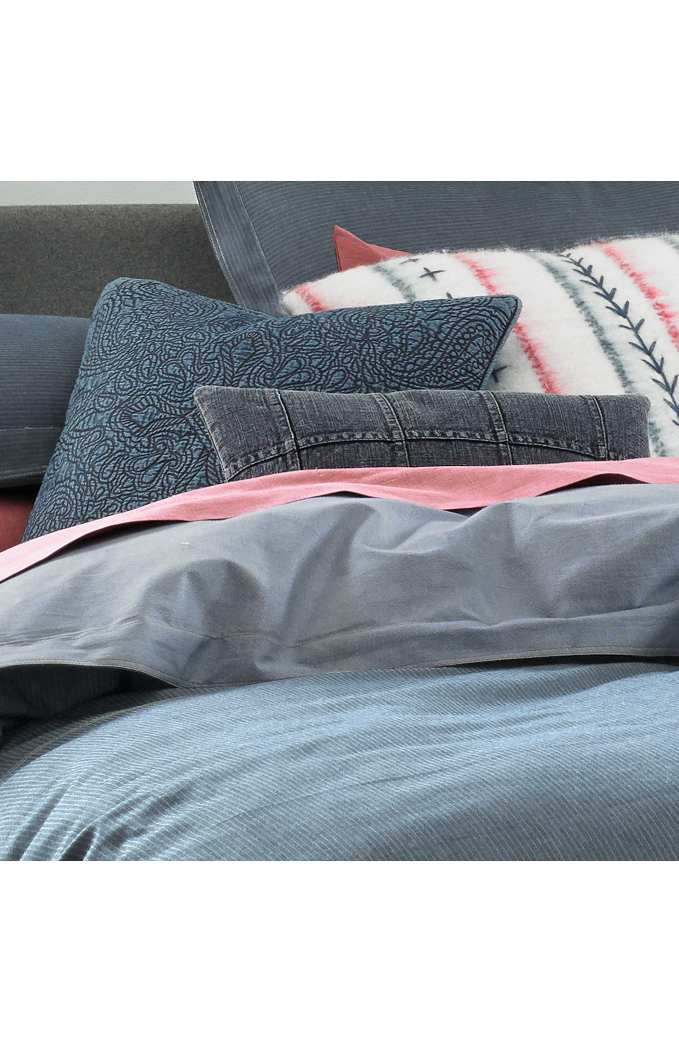 Sunkissed Denim Comforter & Sham Set,                             Alternate thumbnail 2, color,                             Blue