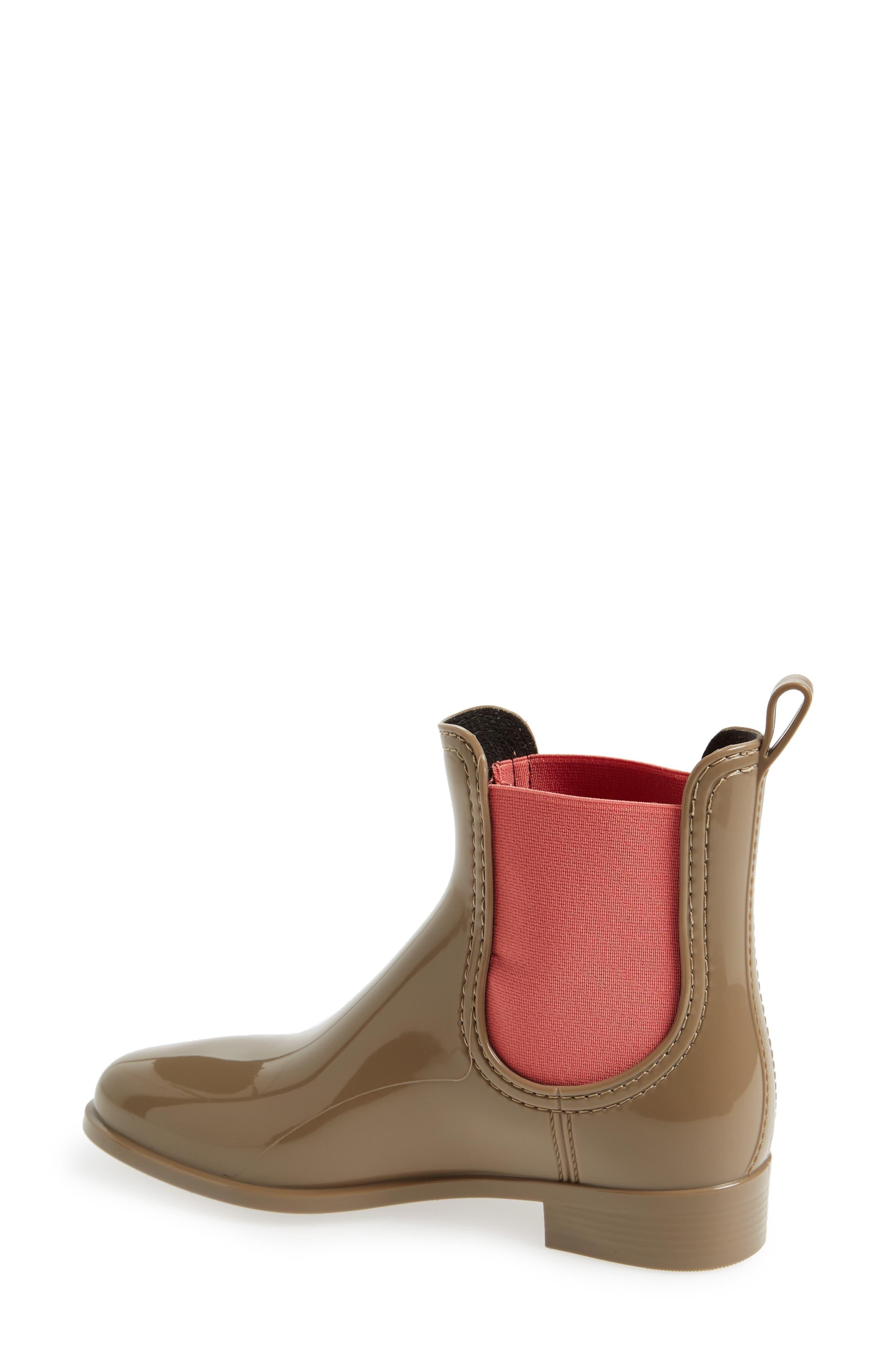 Pisa Waterproof Chelsea Boot,                             Alternate thumbnail 2, color,                             Taupe Gloss