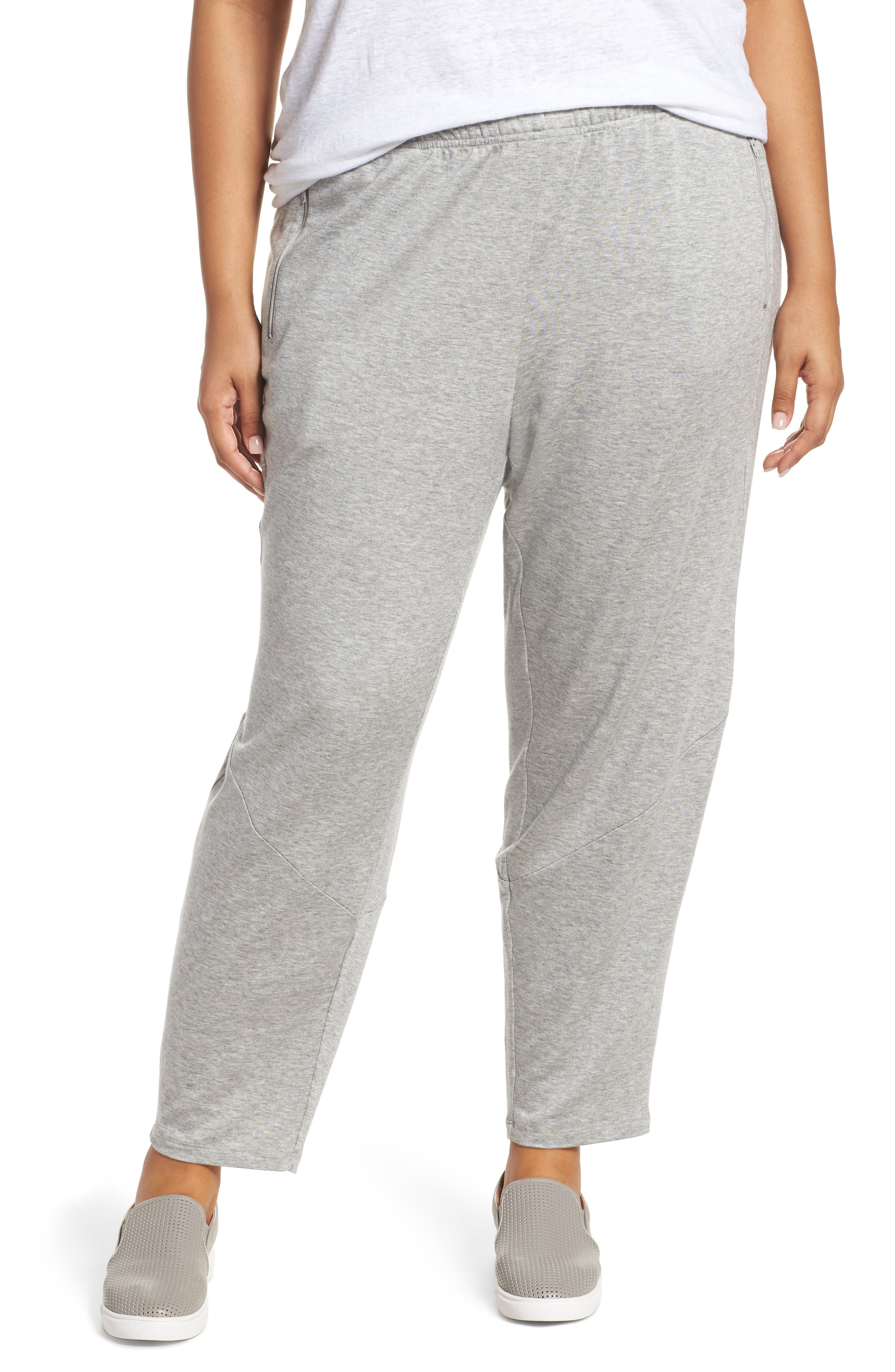 Slouchy Stretch Pants,                         Main,                         color, Dark Pearl