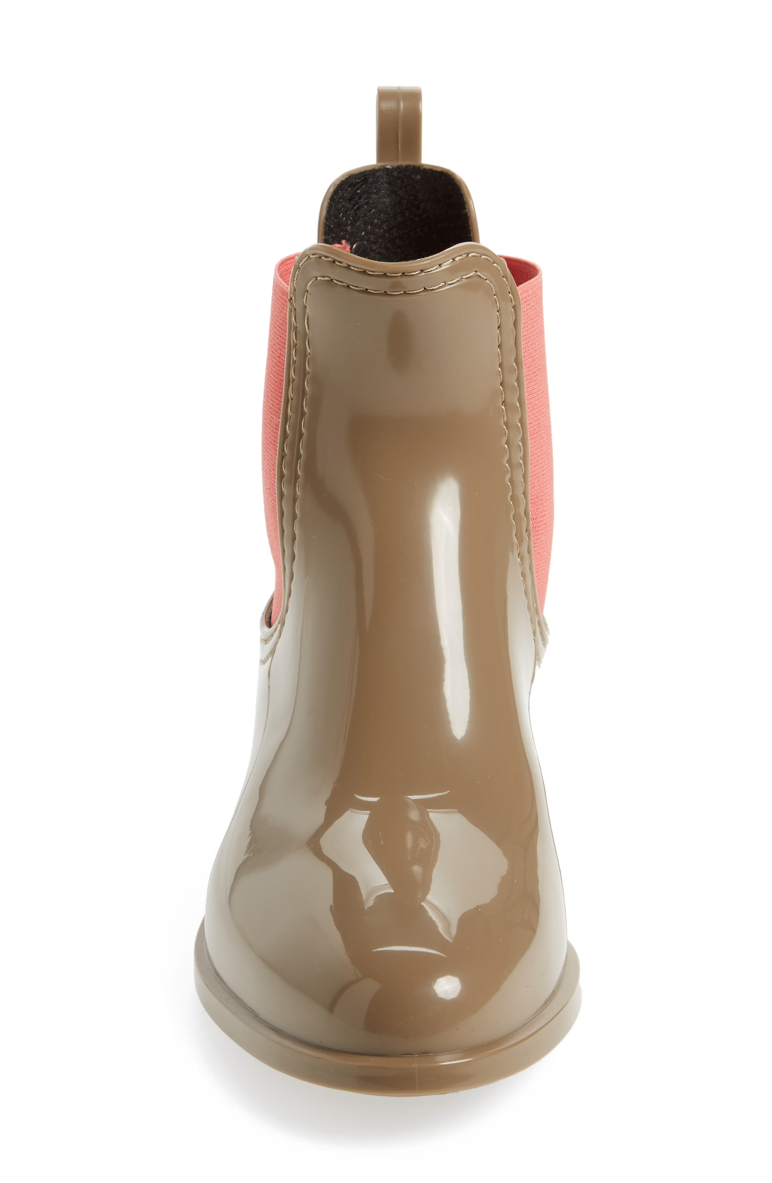 Pisa Waterproof Chelsea Boot,                             Alternate thumbnail 4, color,                             Taupe Gloss