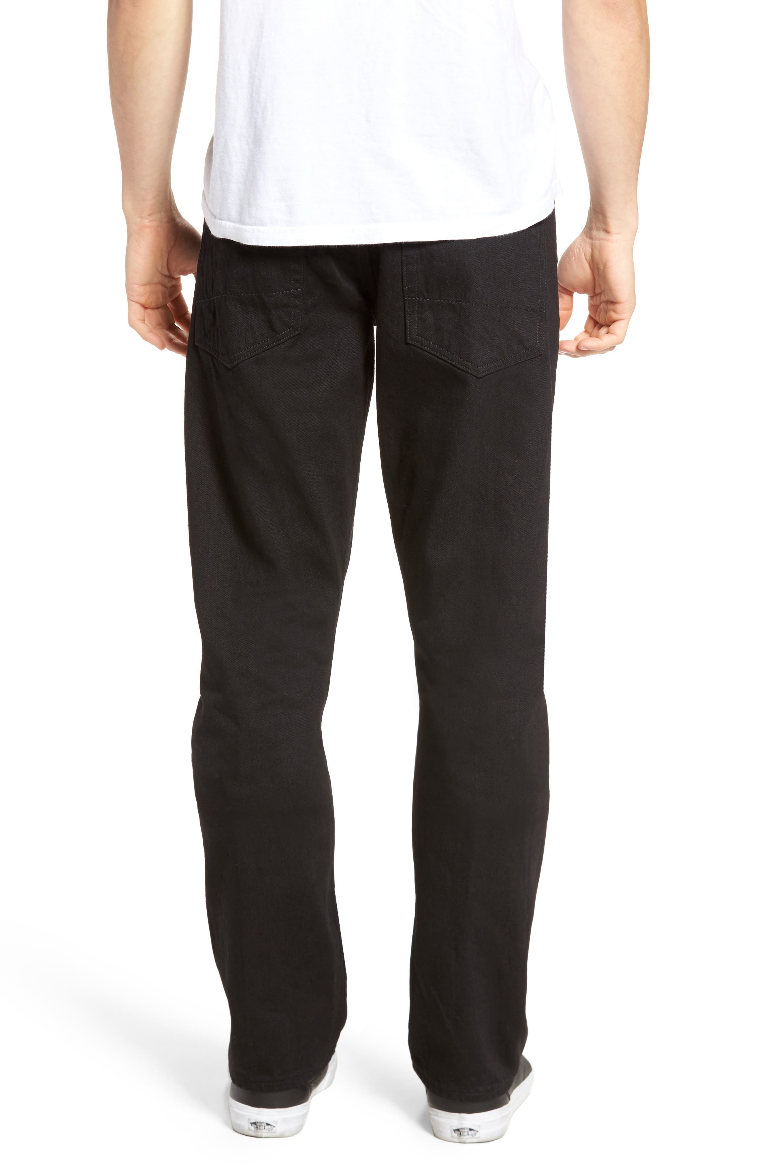 Alternate Image 2  - PRPS Demon Slim Straight Leg Jeans (Zygomatic)