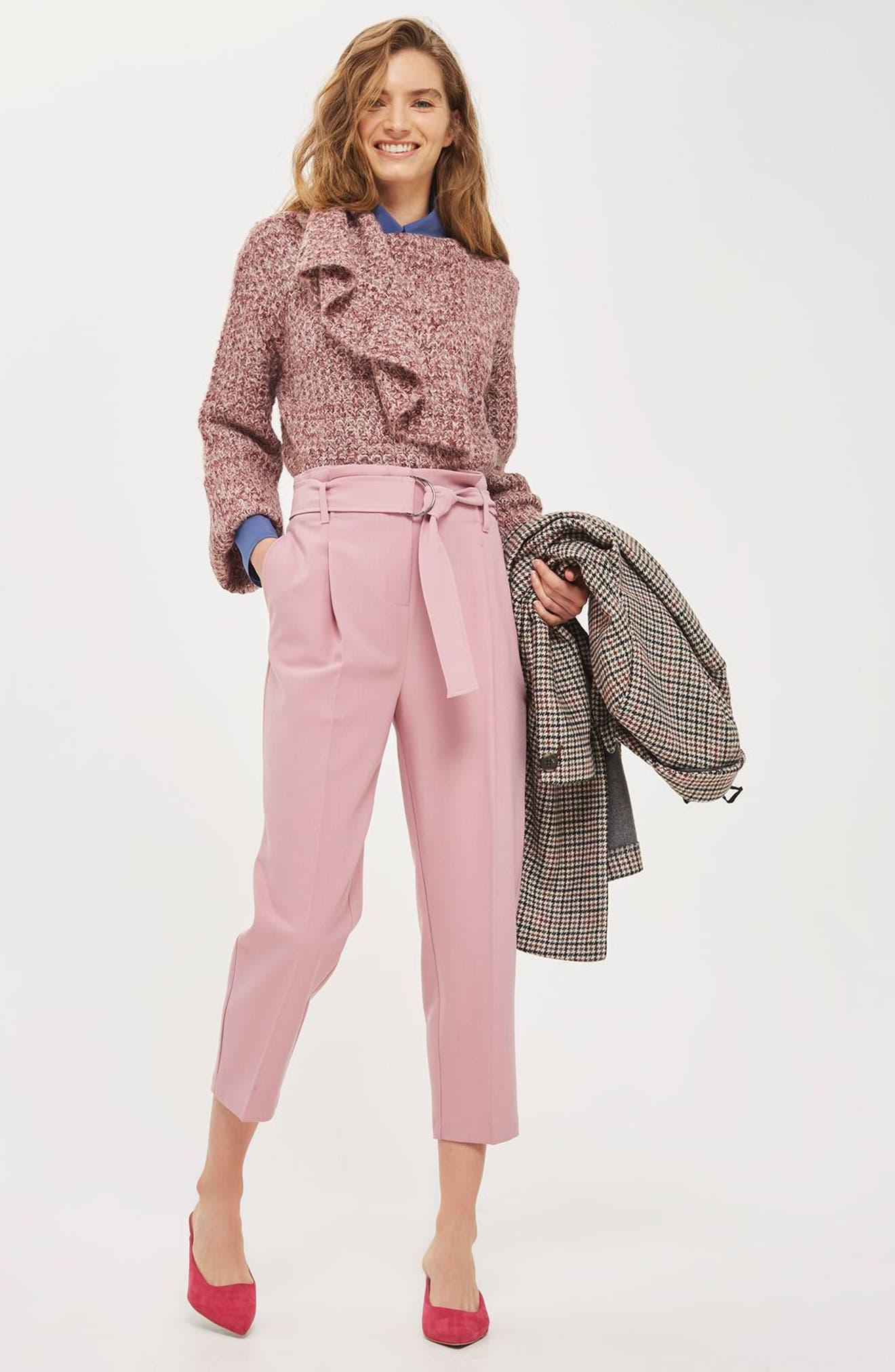 Alternate Image 4  - Topshop Lofty Envelope Neck Sweater
