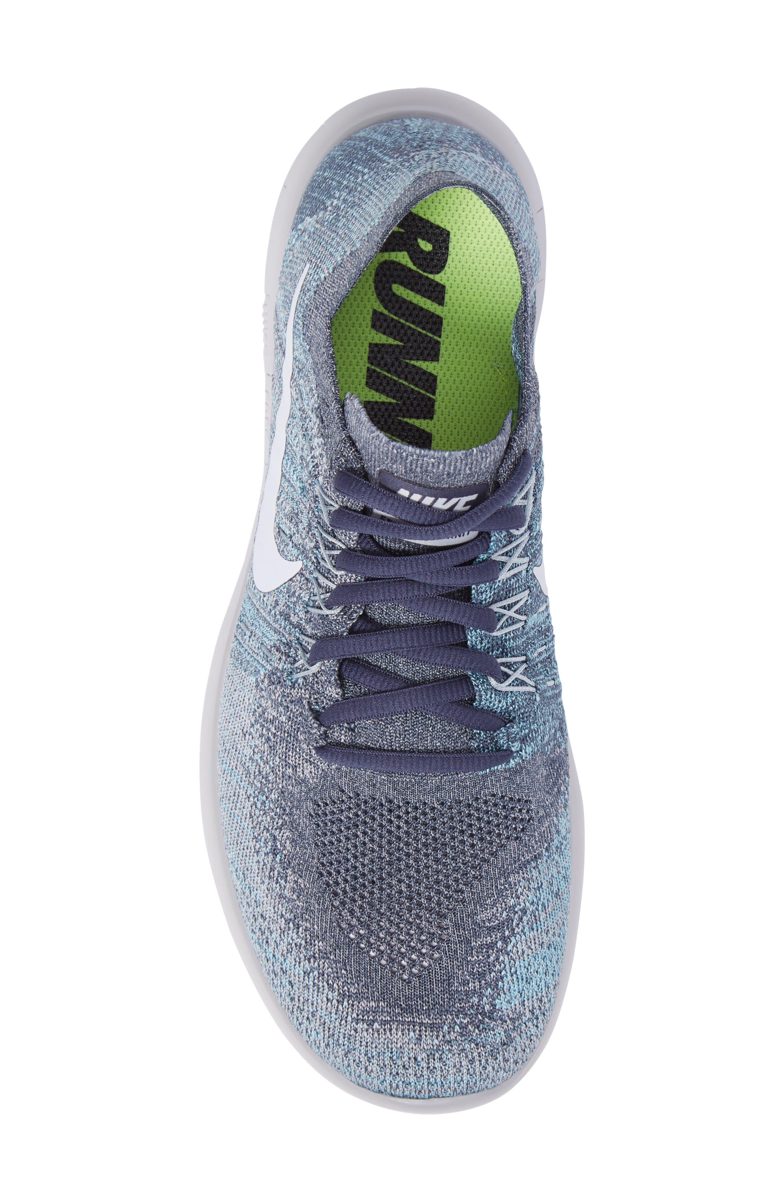 Alternate Image 5  - Nike Free Run Flyknit 2017 Running Shoe (Men)