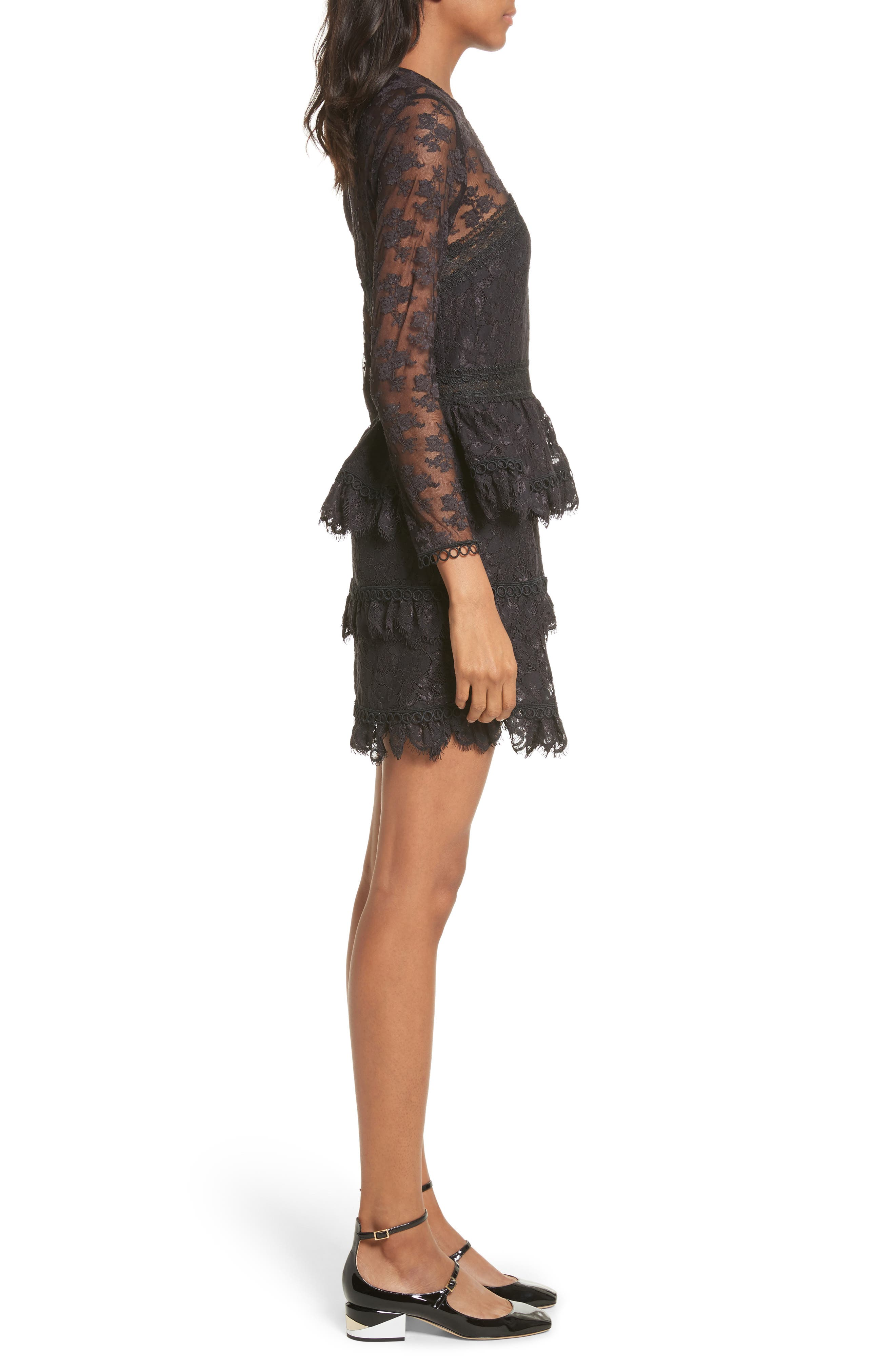 Alternate Image 3  - The Kooples Floral Lace Dress