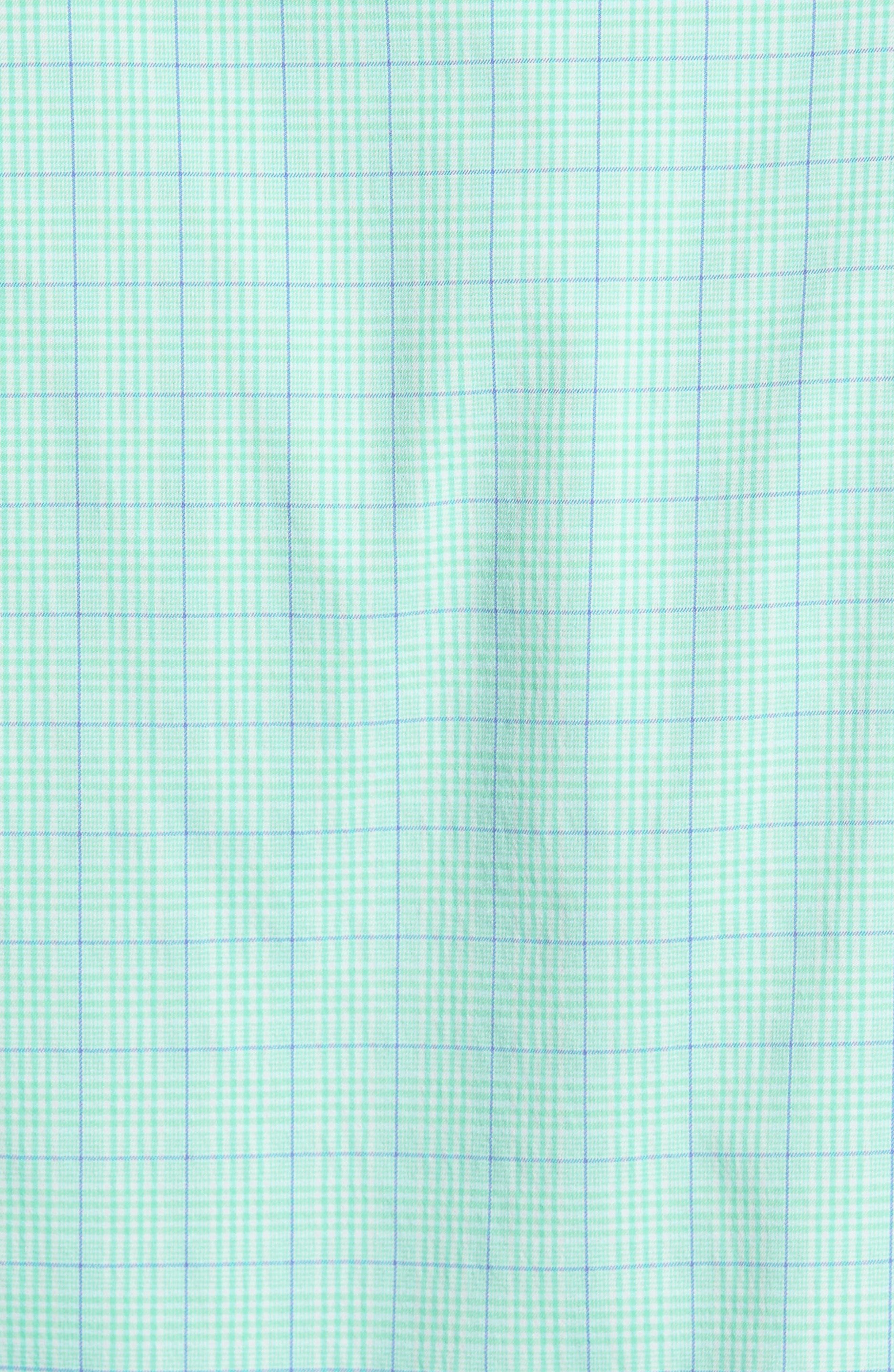 Alternate Image 5  - Peter Millar McConnell Plaid Performance Sport Shirt